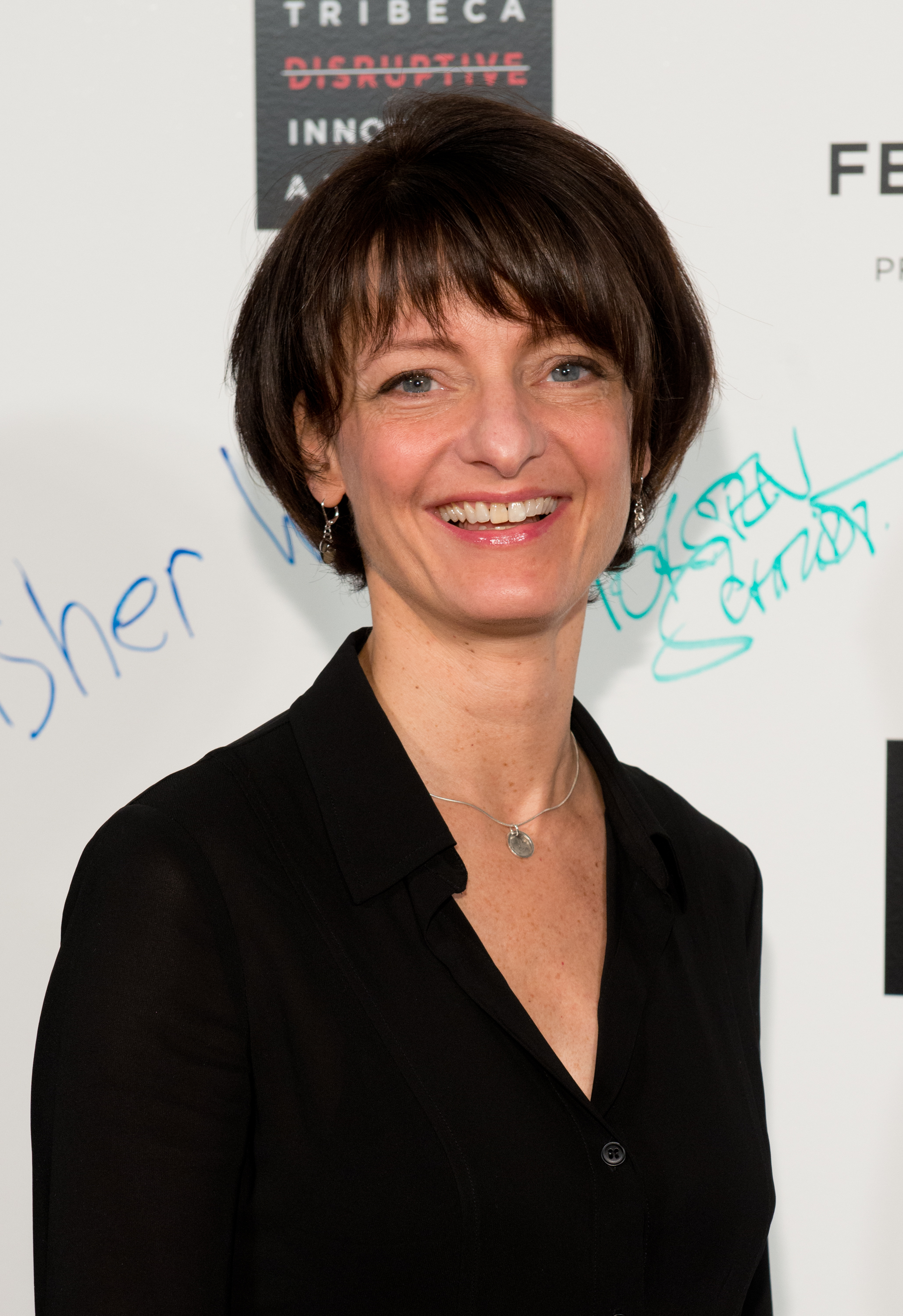 Regina Dugan attends The Disruptive Innovation Awards during the 2014 Tribeca Film Festival at Jack H. Skirball Center for the Performing Arts on April 25, 2014 in New York City.