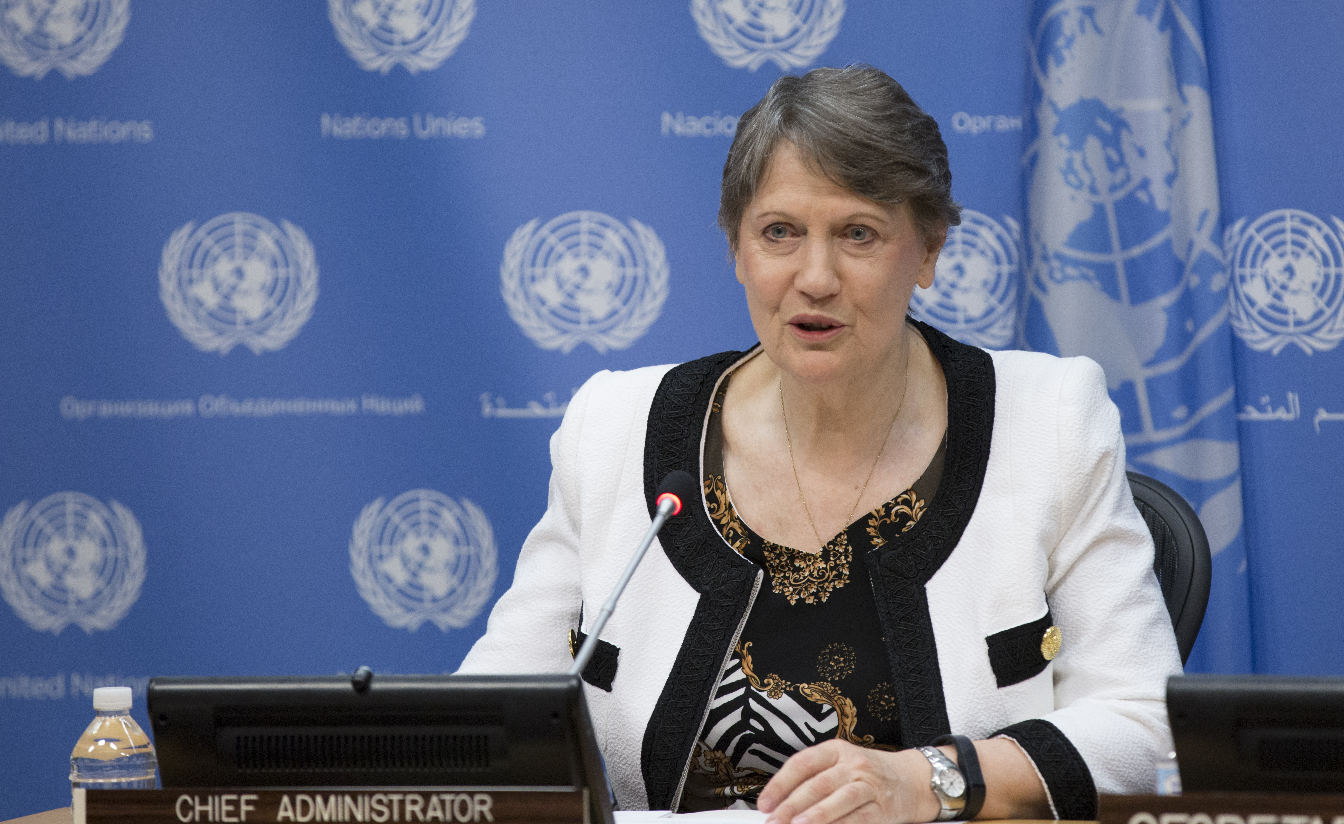 Helen Clark Becomes Fourth Woman to Run for U.N. Top Job | Time