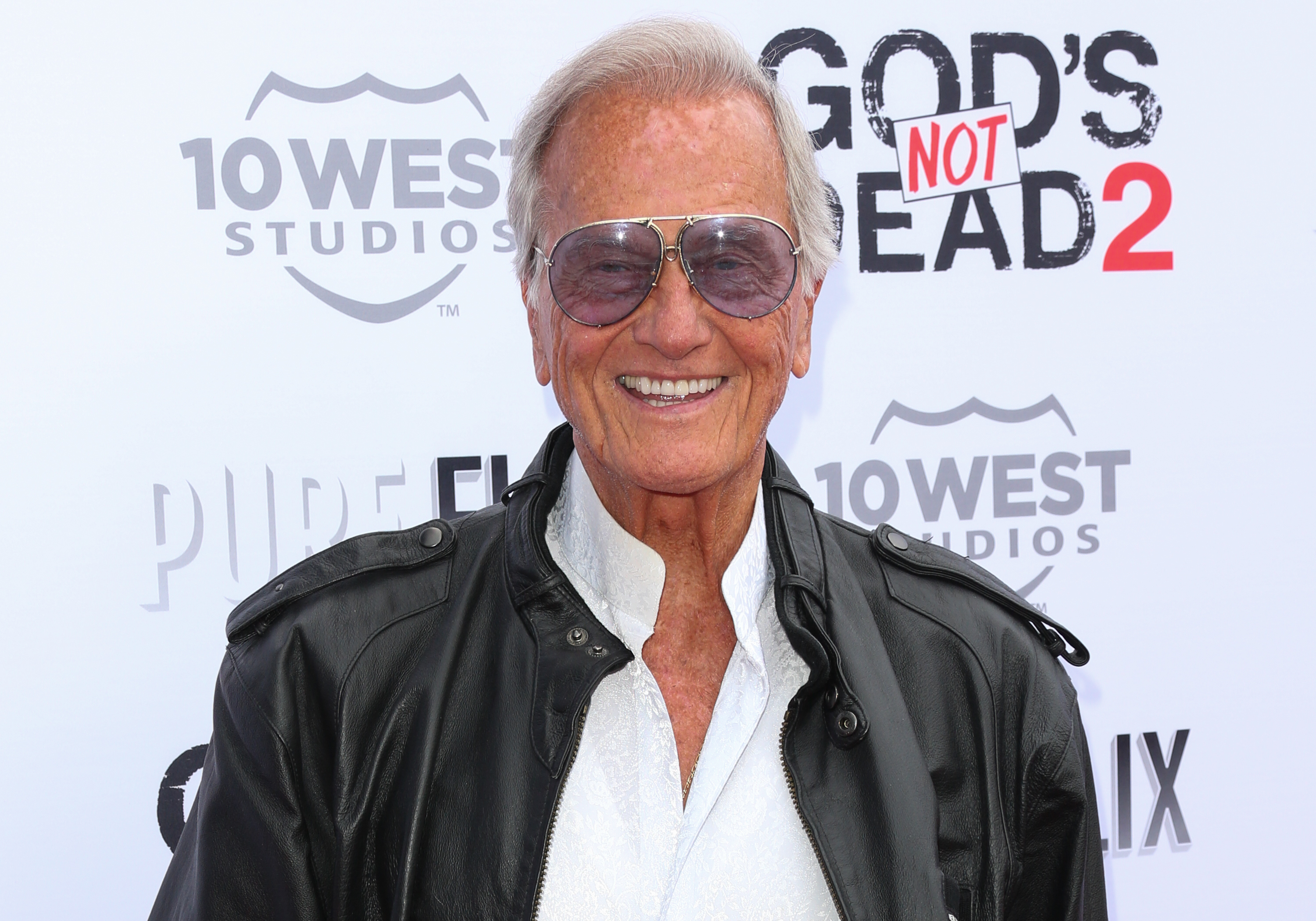 Singer Pat Boone attends the premiere of  God's Not Dead 2  at Directors Guild Of America on March 21, 2016 in Los Angeles, California.