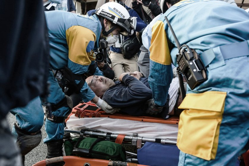 7.3 Magnitude Earthquake Hits Japan After Earlier Kills 9