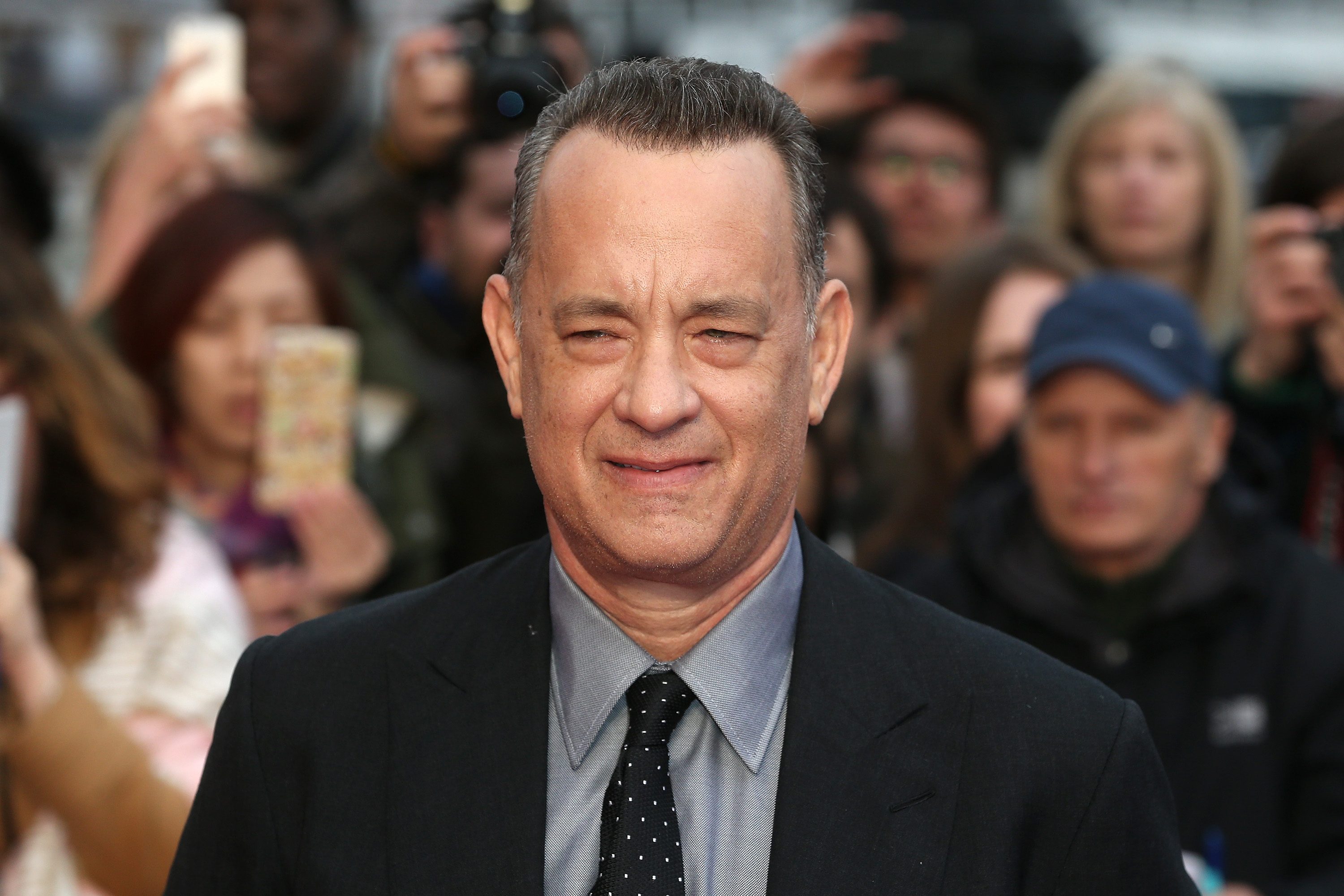 Tom Hanks at BFI Southbank on April 25, 2016 in London, England.