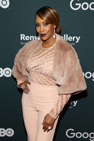 Actress Vivica Fox attends the Google/HBO celebration of  All The Way  during White House Correspondents' weekend at the Renwick Gallery on April 29, 2016 in Washington, D.C.