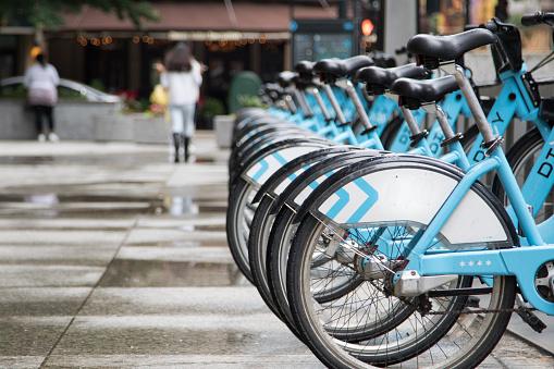 Bikes to share