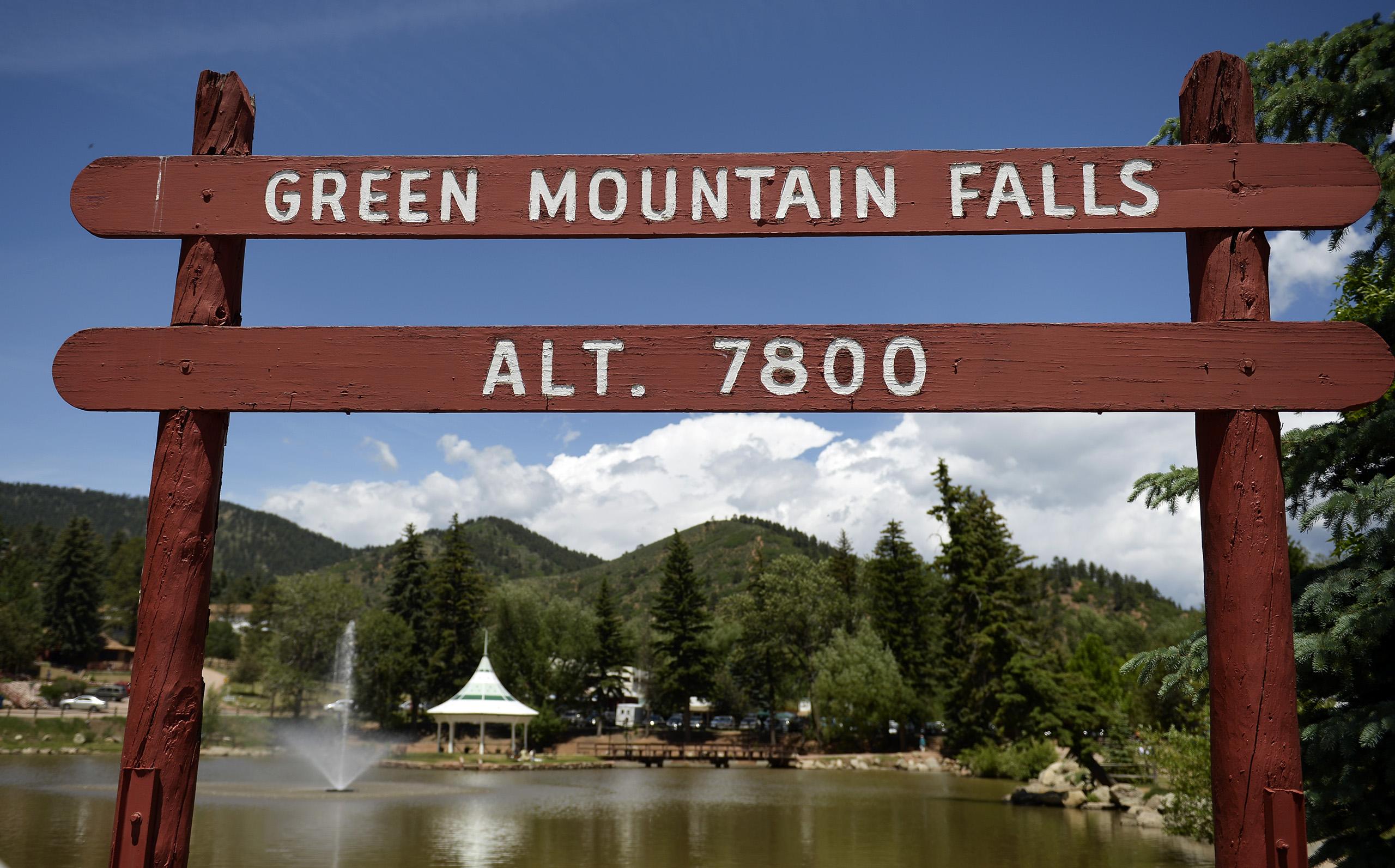 Green Mountain Falls, Colorado, on June 23, 2014.