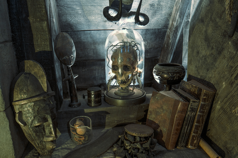 Dark Arts in Hogwarts Castle.