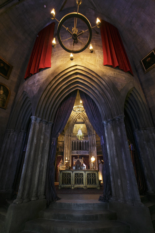 Dumbledore's office in Hogwarts Castle.