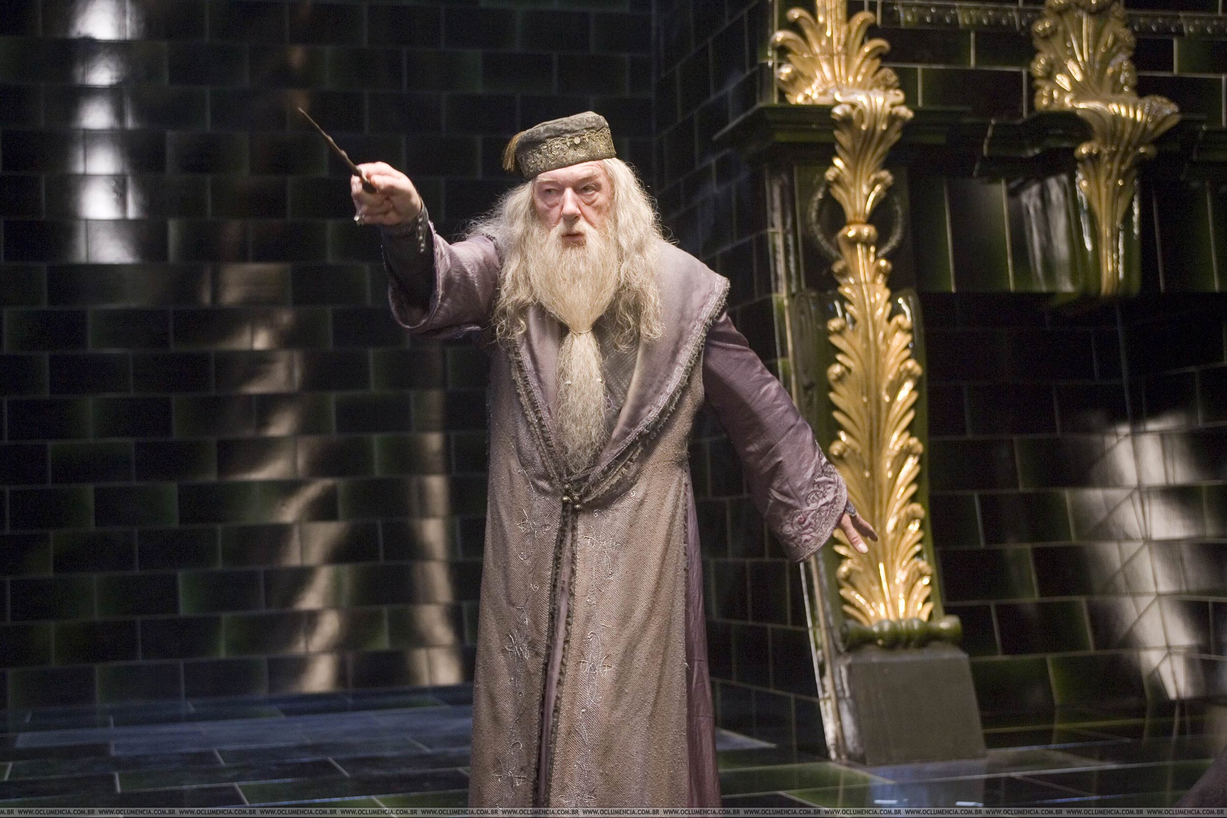 Michael Gambon as Albus Dumbledore in  Harry Potter and the Order of the Phoenix.