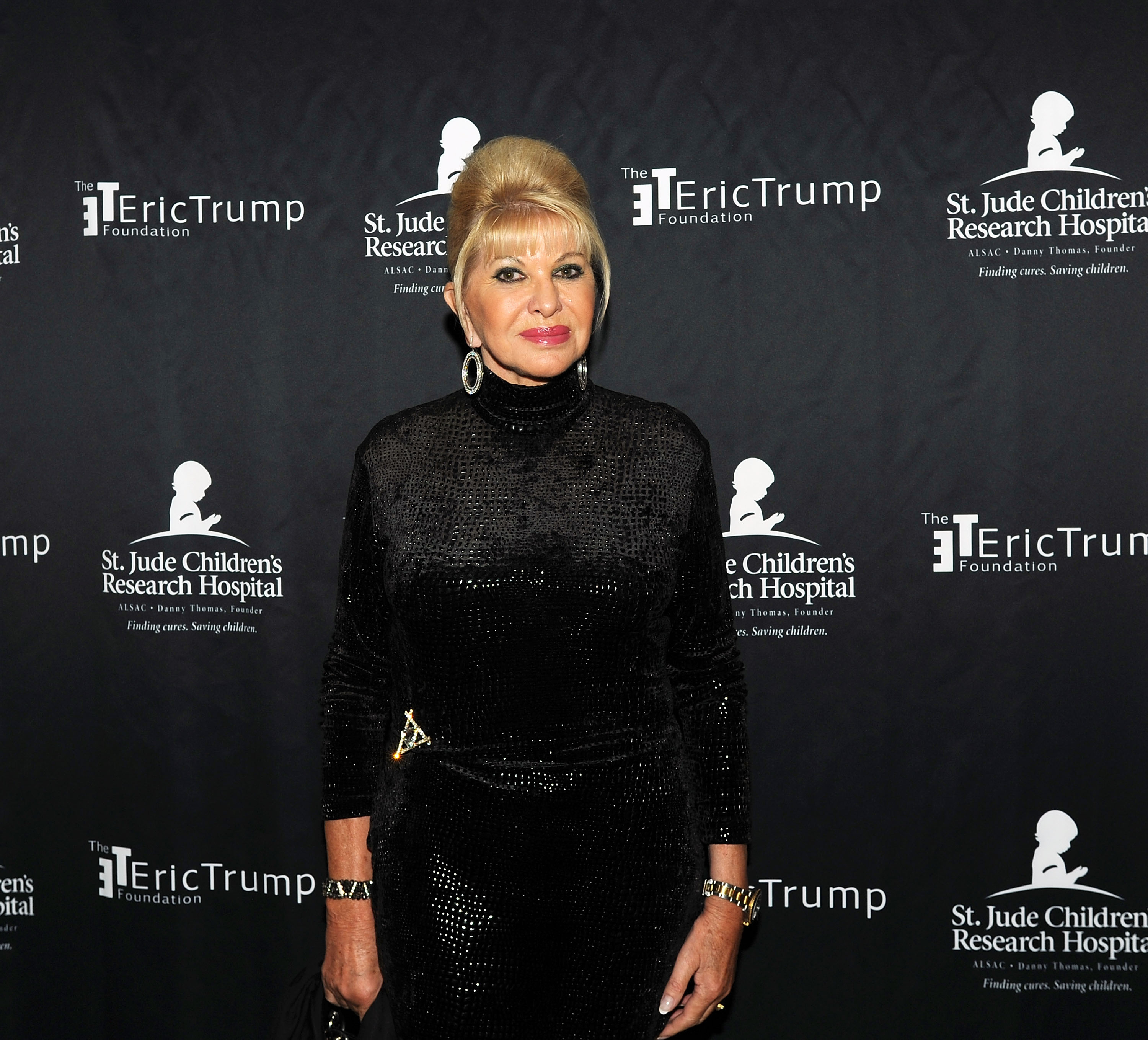 vana Trump attends the 9th Annual Eric Trump Foundation golf invitational at Trump National Golf Club Westchester on September 21, 2015 in Briarcliff Manor City