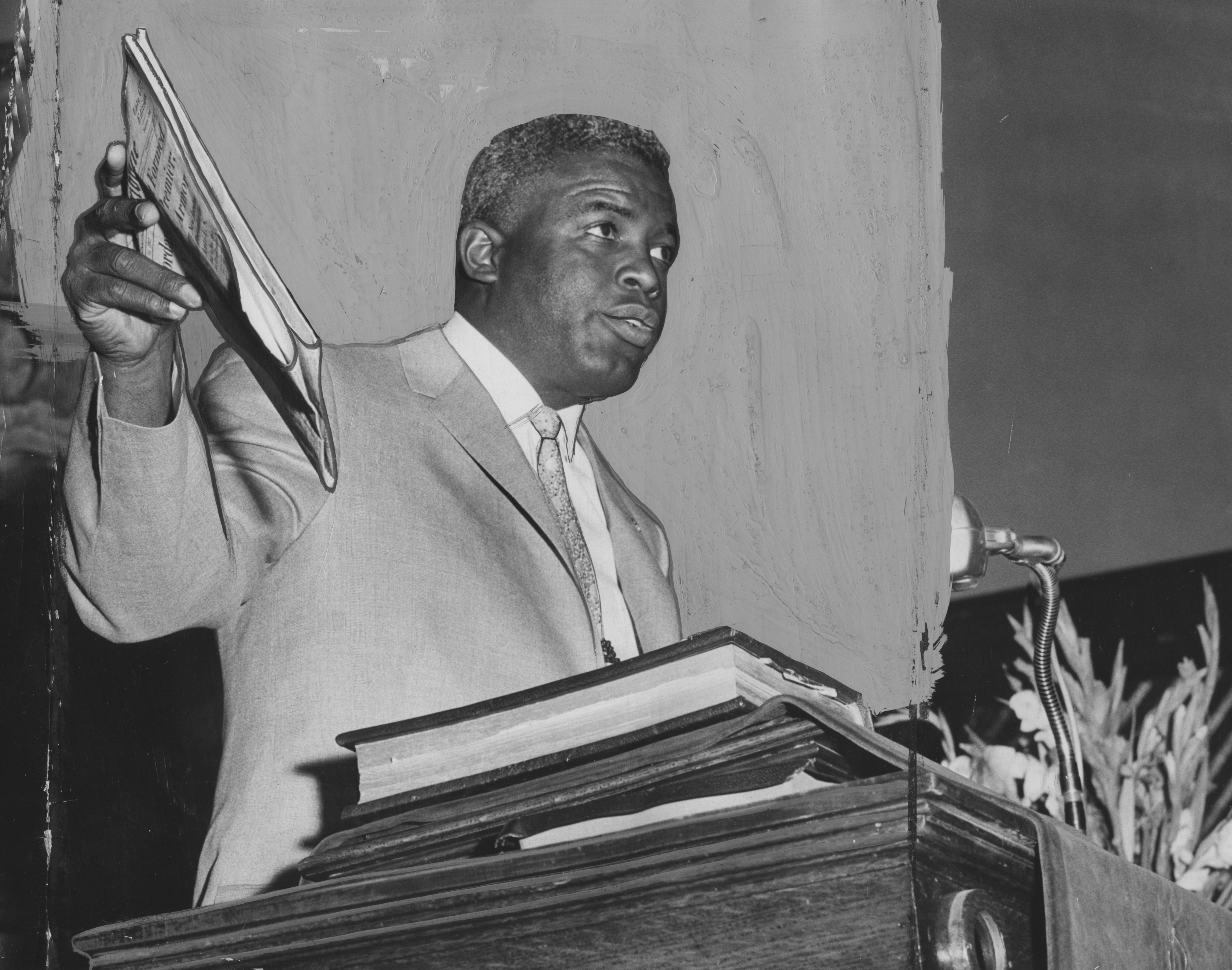 A man in full: Robinson as activist and moral force in 1970, two years before his death
