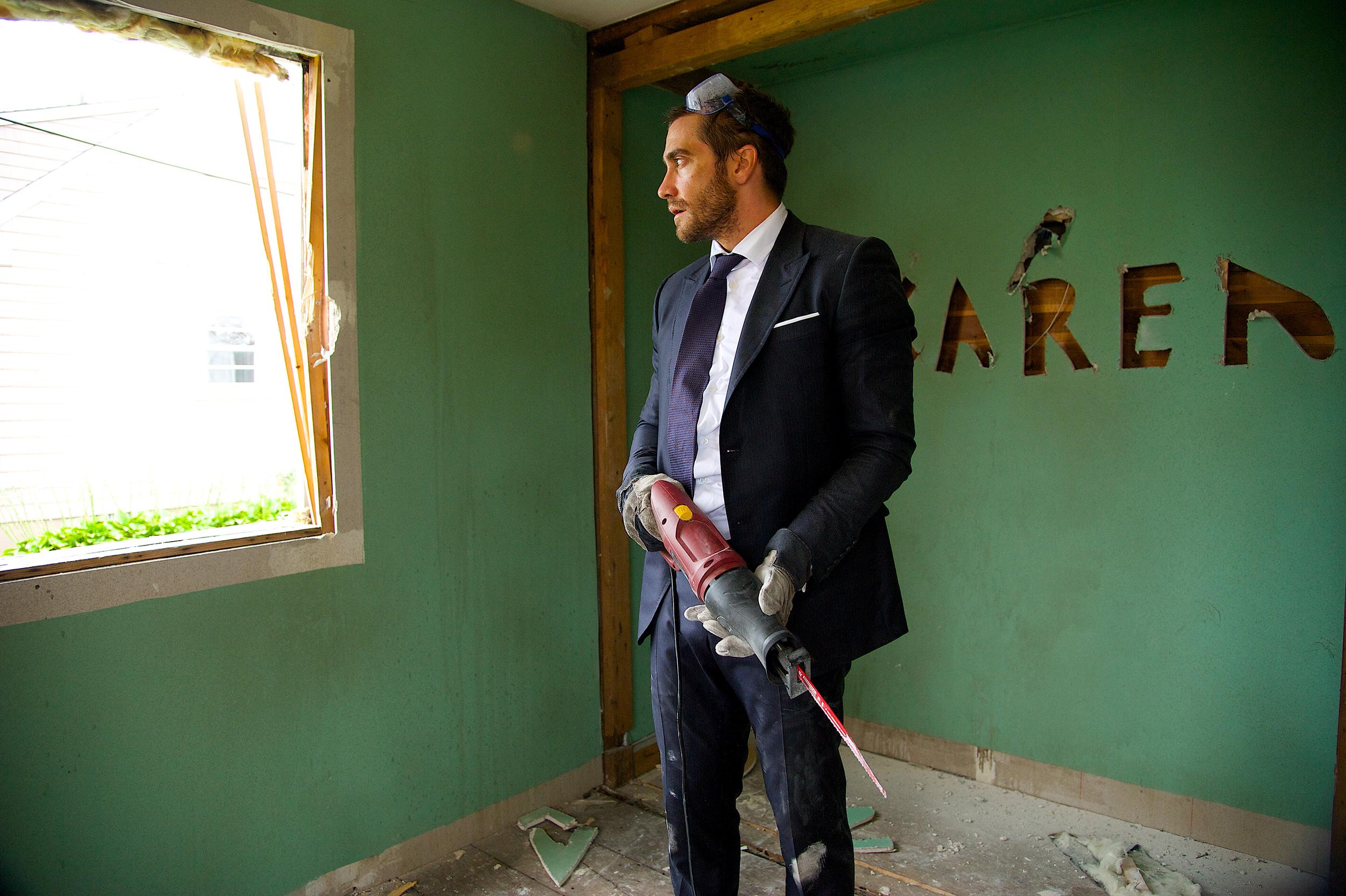 "Jake Gyllenhaal in ""Demolition."""