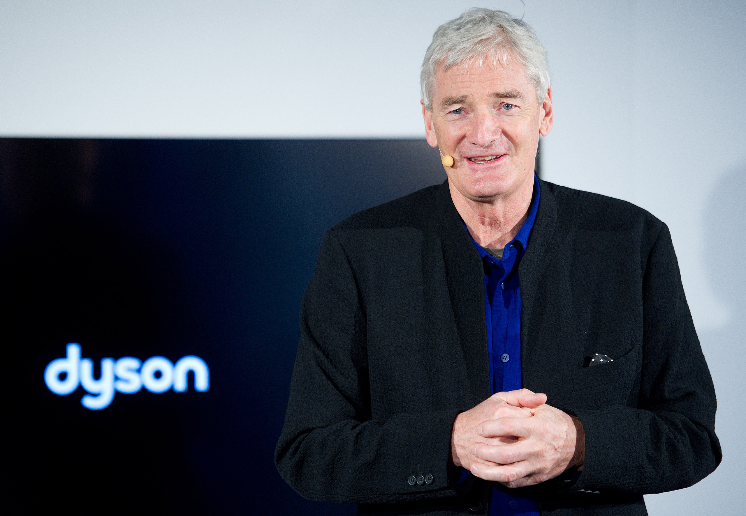 British entrepreneur and inventor James Dyson in Hamburg, Germany, 28 Feb. 2013.