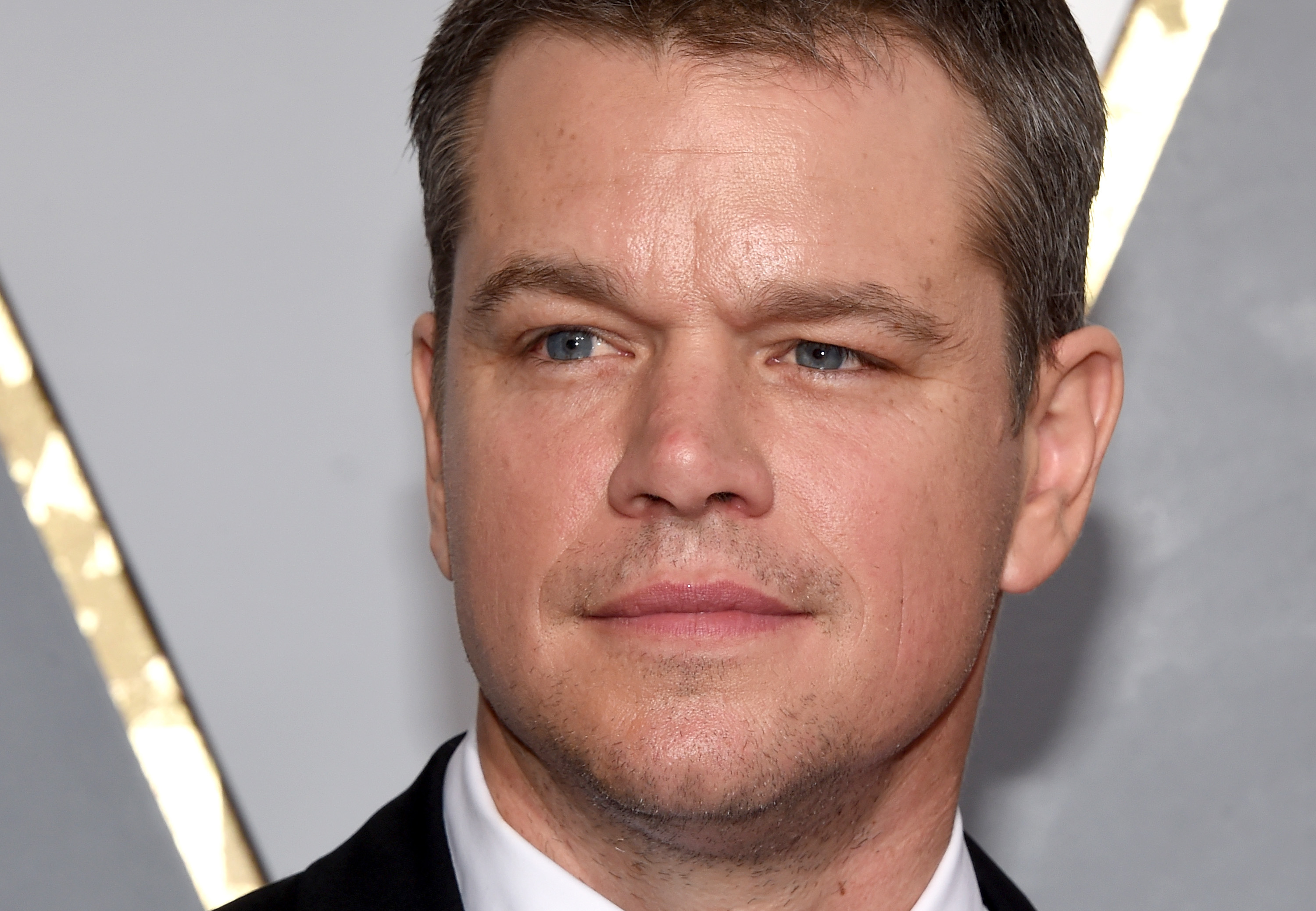 Matt Damon attends the 88th Annual Academy Awards at Hollywood & Highland Center on February 28, 2016 in Hollywood, California.