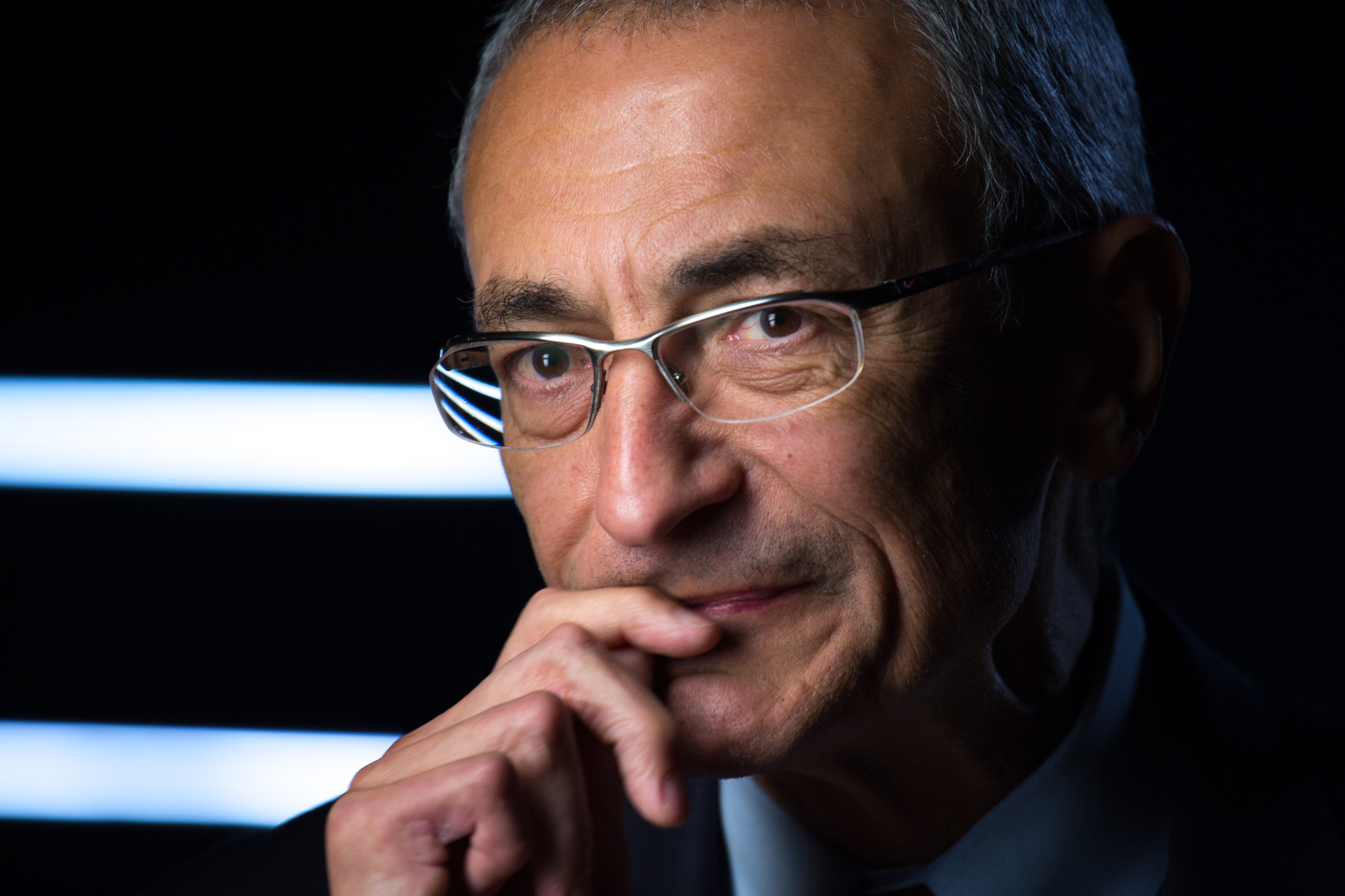 John Podesta is interviewed in Washington, Nov. 9, 2012.