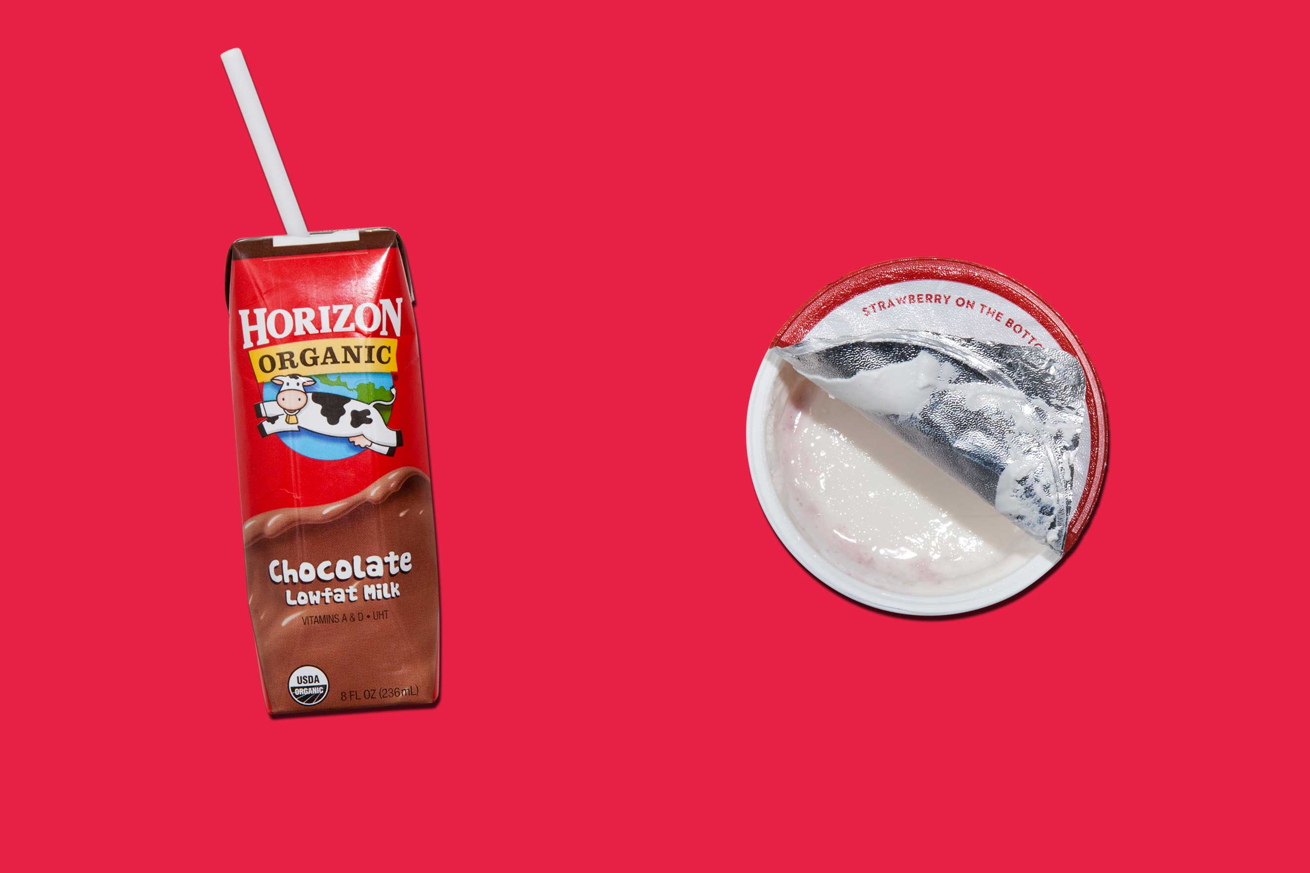 """5. Katie Ledecky's                               Power Snack:                                """"I never had much chocolate milk as a kid,"""" says the Olympic swimmer. """"But now I always have it right after practice, with yogurt, so I can get the right amount of protein and carbs to keep me going."""
