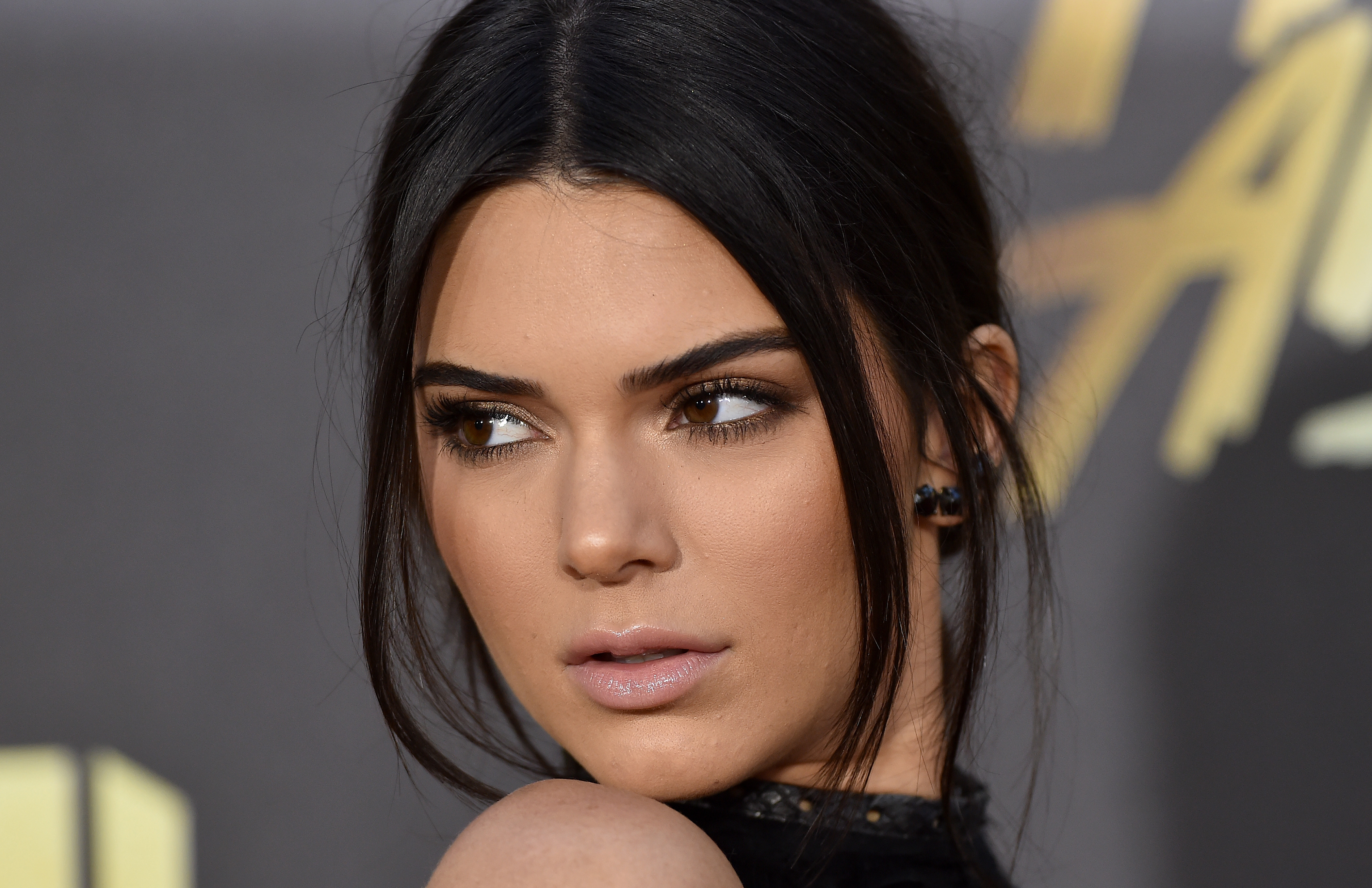 Model Kendall Jenner arrives at the 2016 MTV Movie Awards at Warner Bros. Studios on April 9, 2016 in Burbank, California.