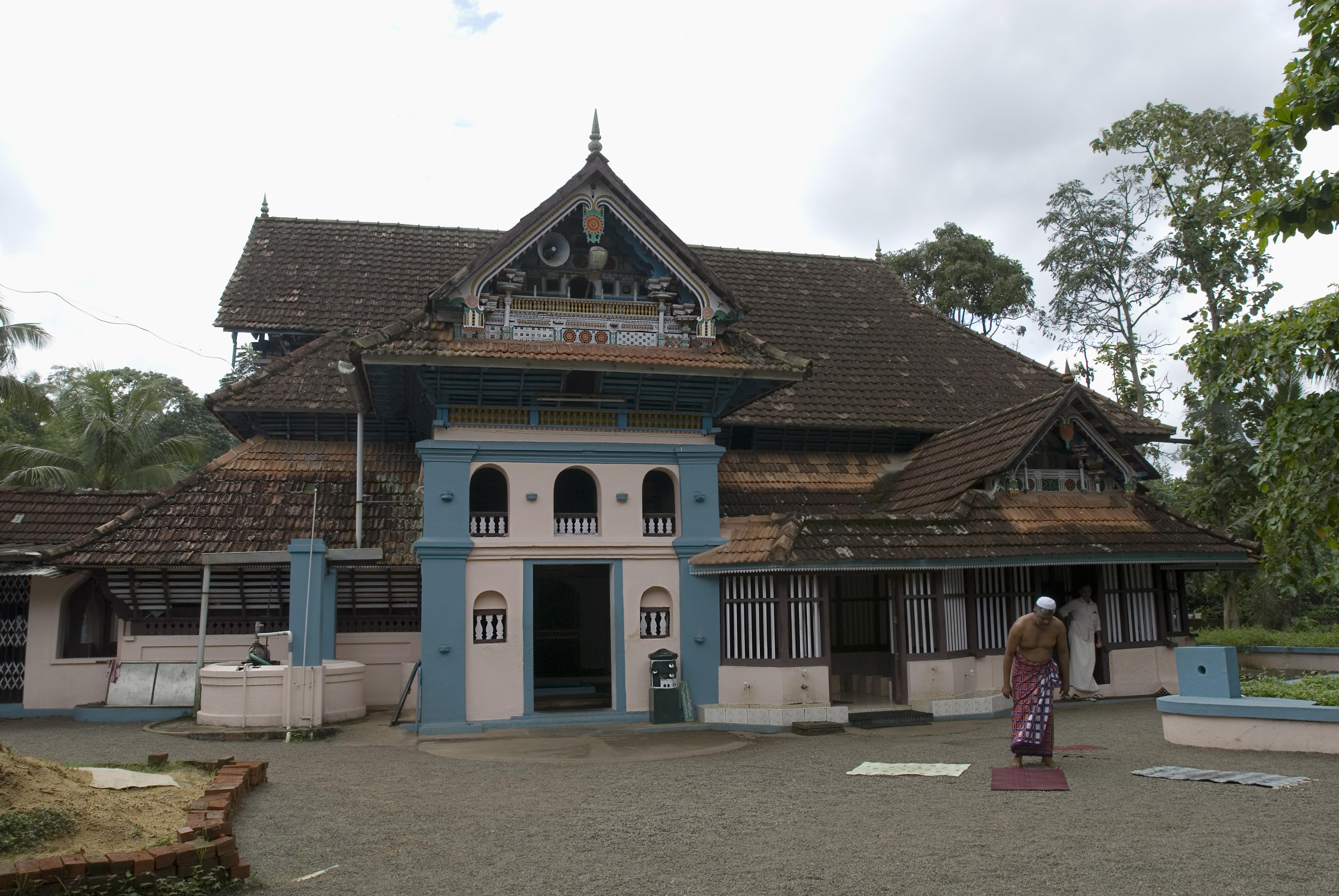 Thazhathangady Juma Masjid, in the state of Kerala, India.