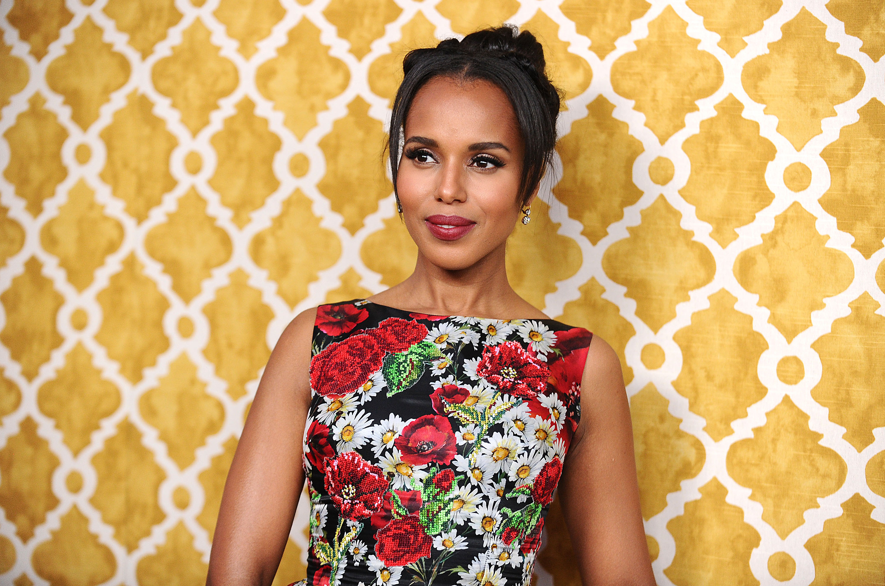 Kerry Washington attends the premiere of  Confirmation  at Paramount Theater on the Paramount Studios lot on March 31, 2016 in Hollywood, California.