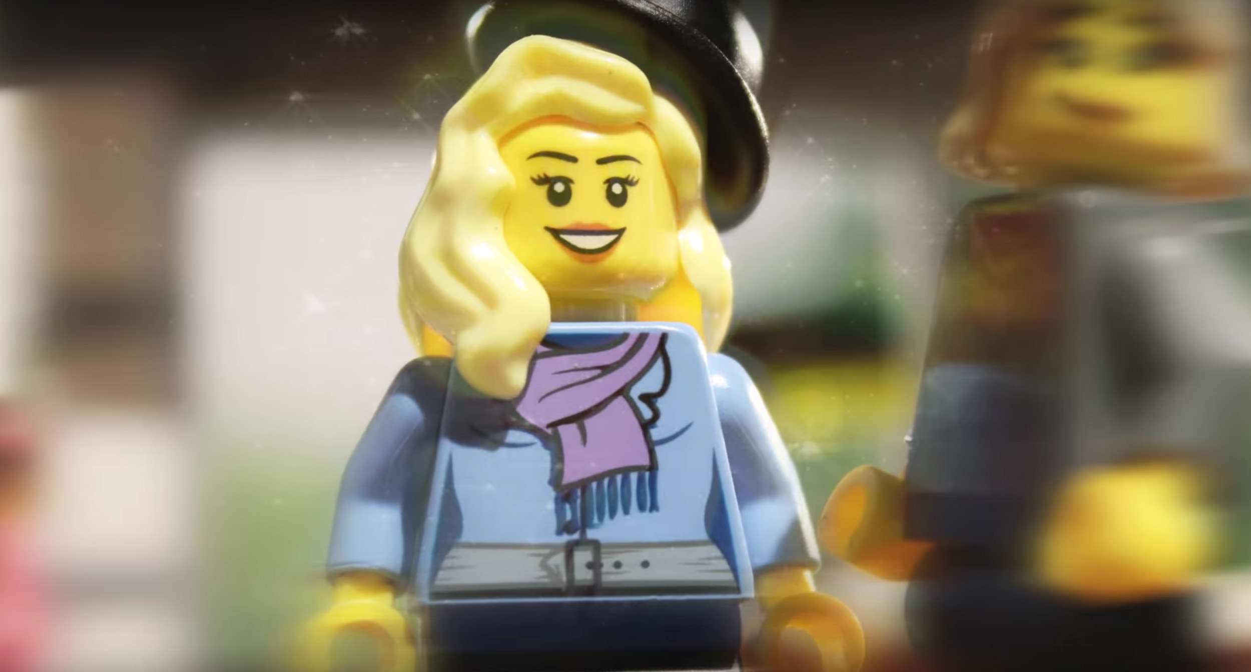 A Couple S Love Story Gets Turned Into A Lego Movie Time