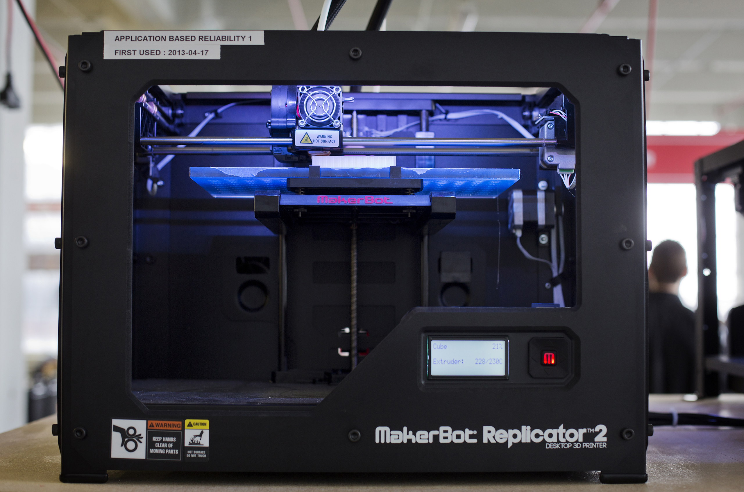 Makerbot Industries LLC Replicator 2 Desktop 3D Printer