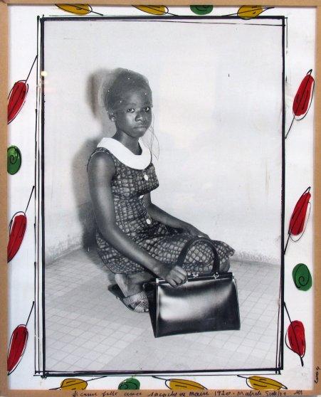 Photograph by Malick Sidibe, Jeune Fille avec, 1970/2004.