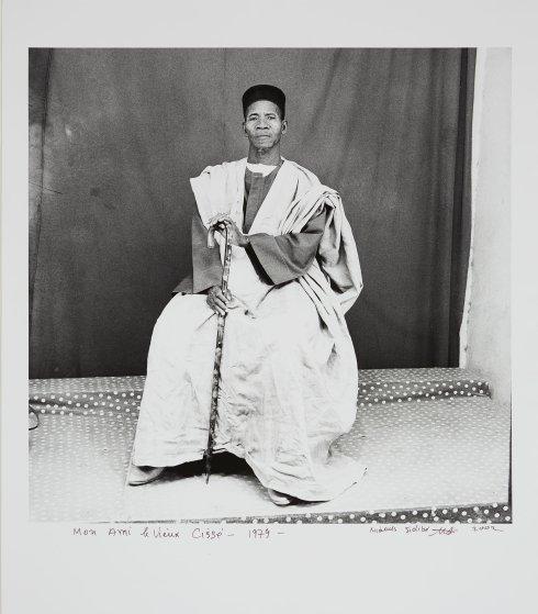 Photograph by Malick Sidibe, Mr. Cissé le pharmacien, 1973, 2001.