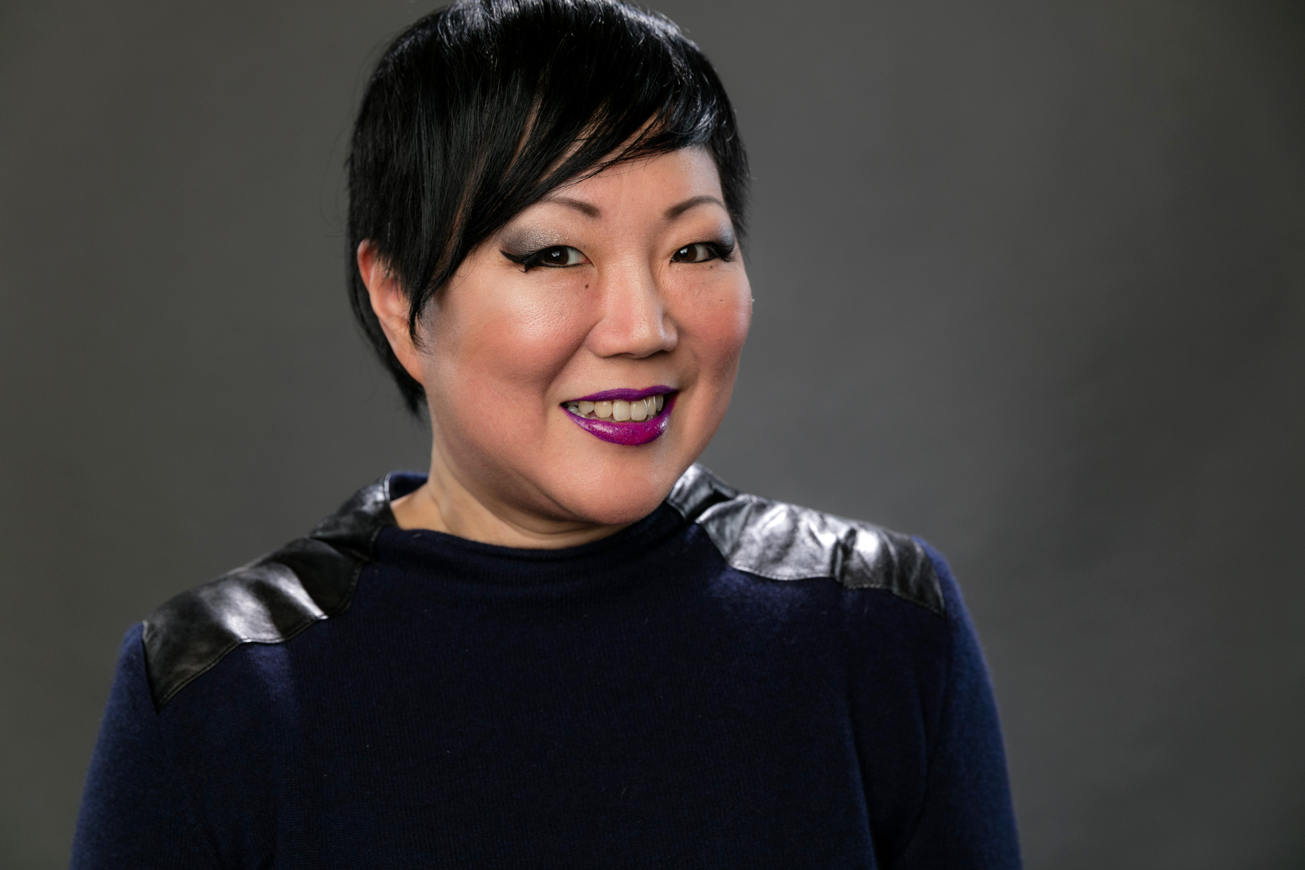 Comedian Margaret Cho poses for a portrait during the NBCUniversal Press Day at The Langham Huntington, Pasadena on January 14, 2016 in Pasadena, California.