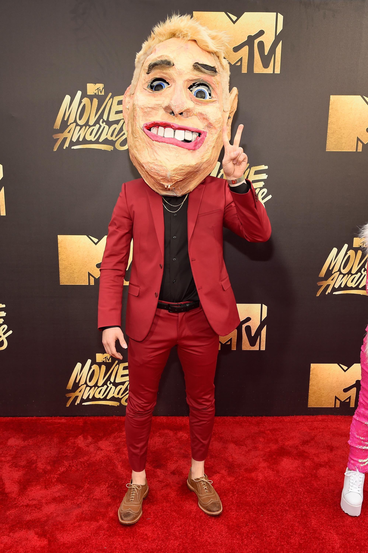 Mike Posner attends the 2016 MTV Movie Awards at Warner Bros. Studios on April 9, 2016 in Burbank, Calif.