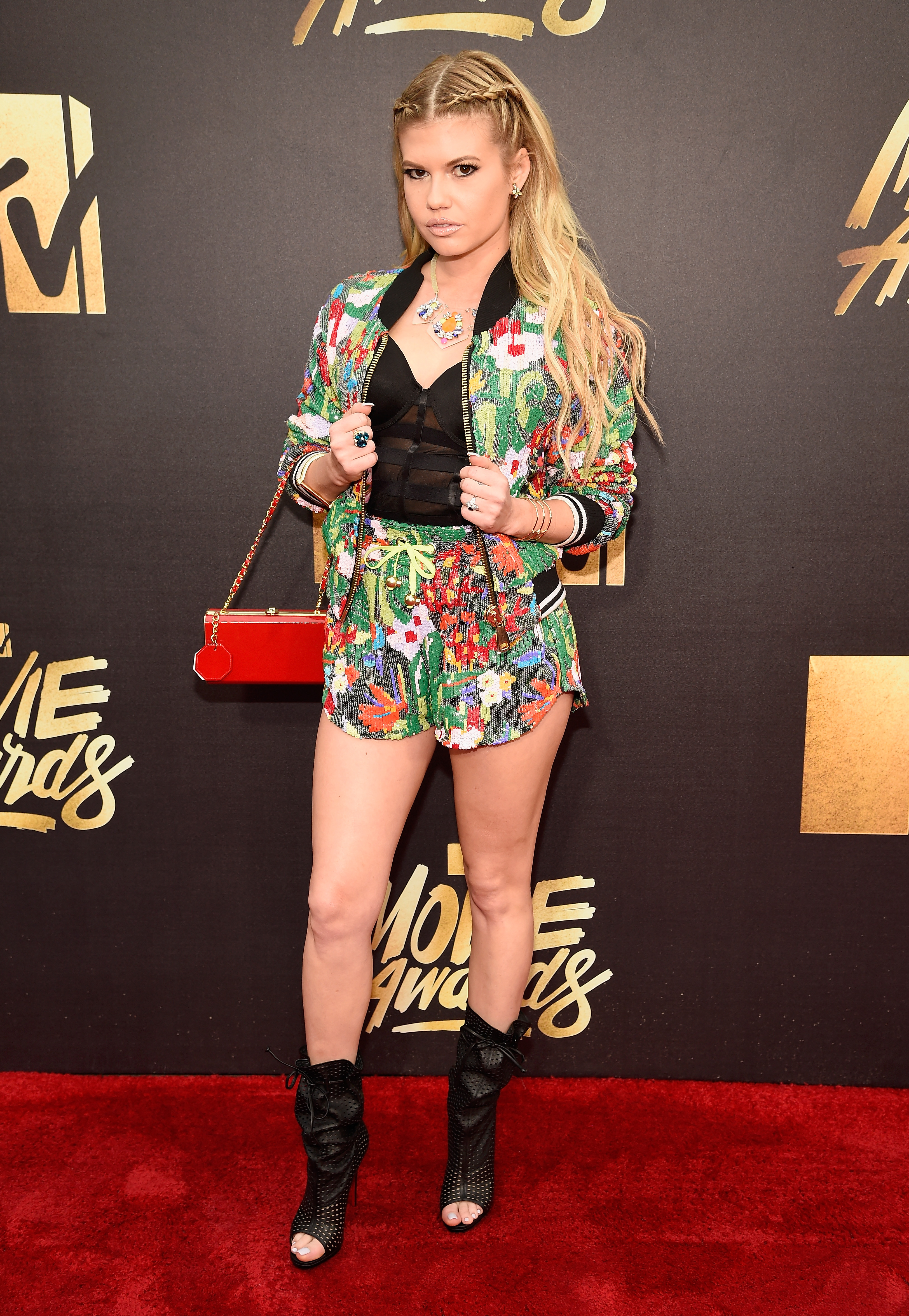 Chanel West Coast attends the 2016 MTV Movie Awards at Warner Bros. Studios on April 9, 2016 in Burbank, Calif.