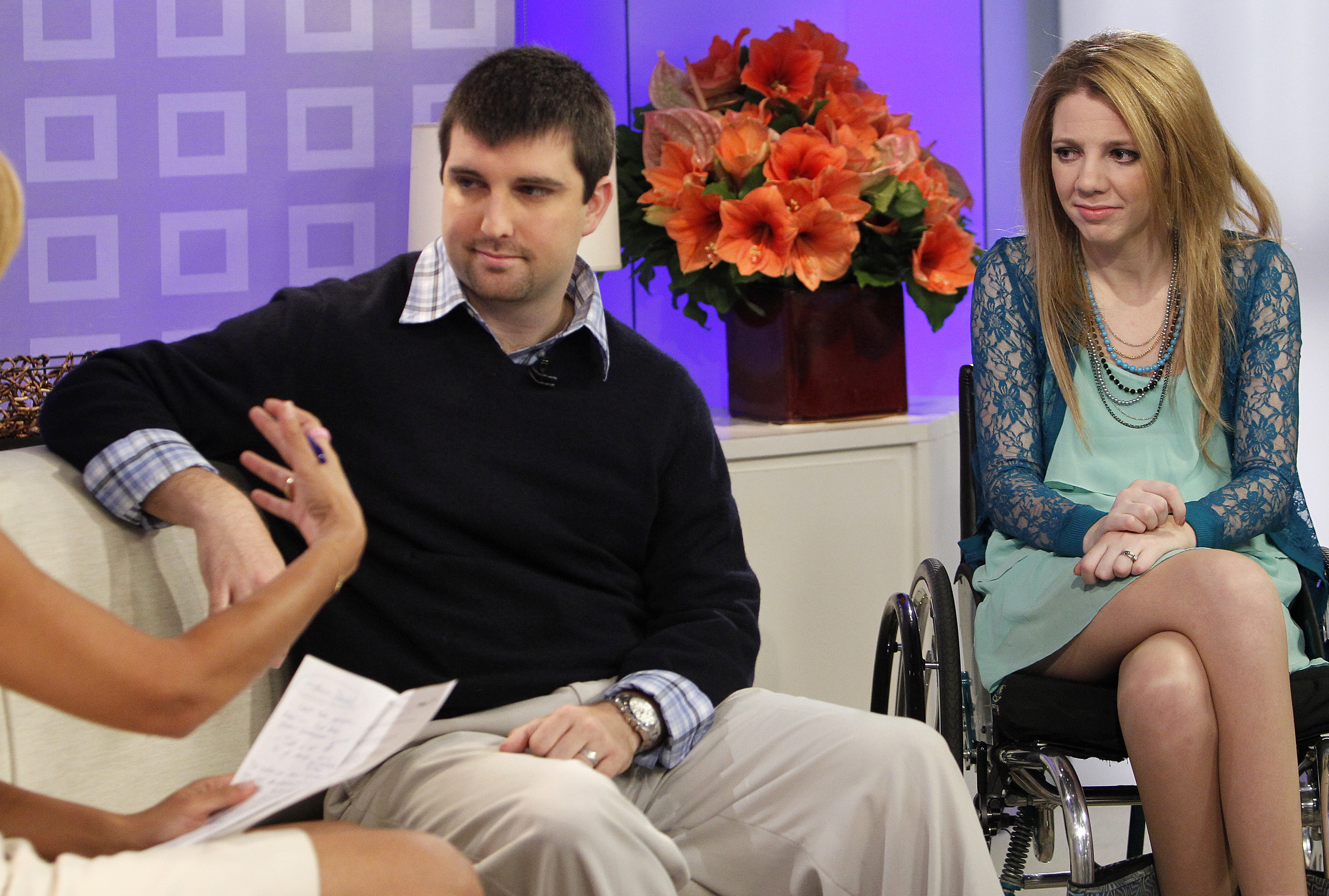 Chris Chapman and Rachelle Chapman appear on NBC News'  Today  show