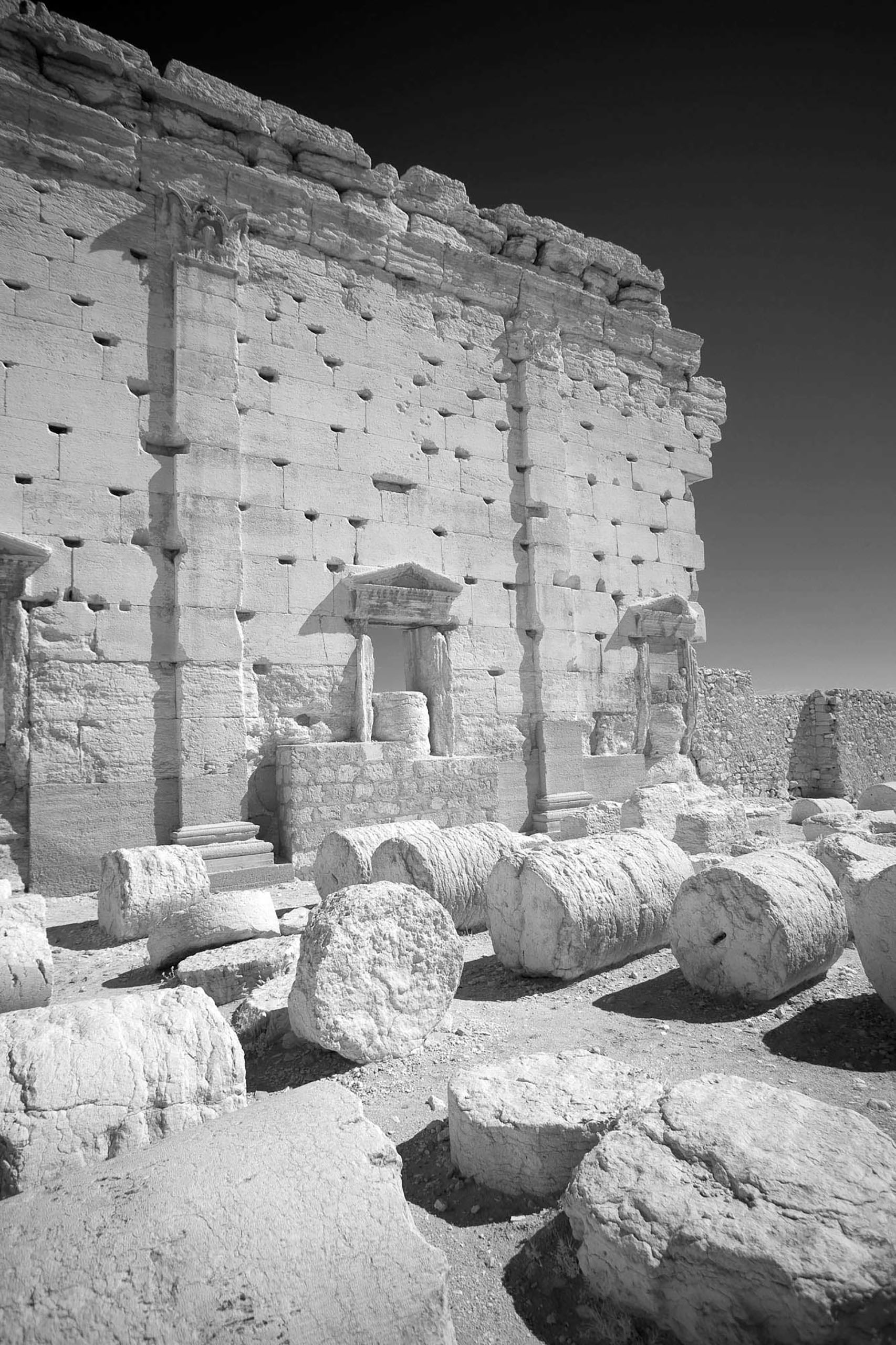 The Temple of Bel ruins were considered among the best preserved at Palmyra.