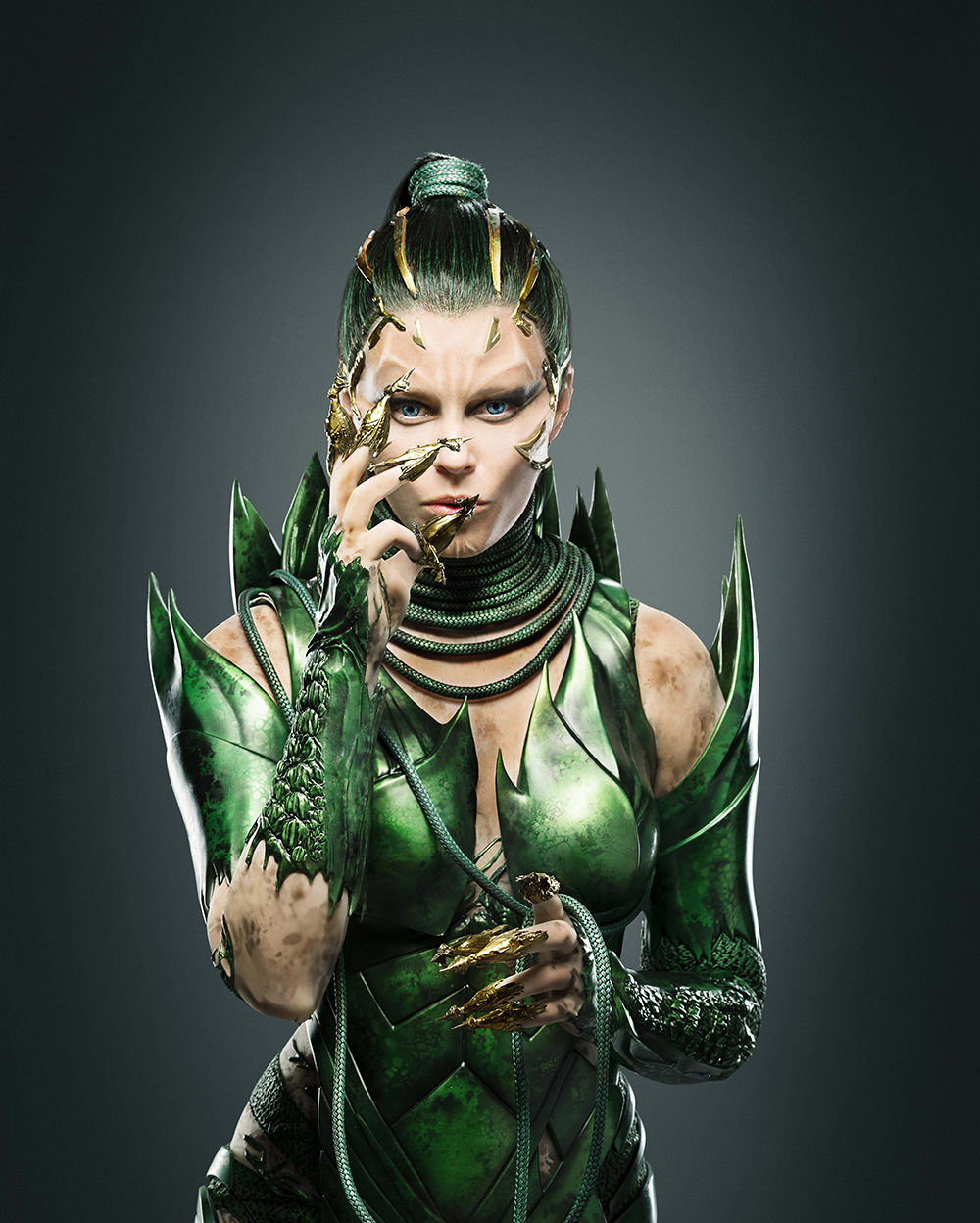 Elizabeth Banks as Rita Repulsa.