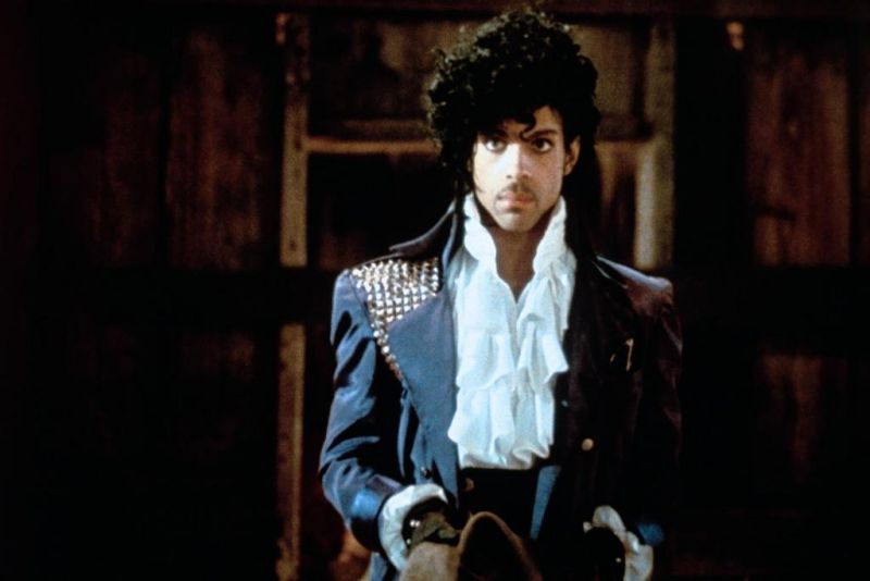 Prince as The Kid in Purple Rain, 1984.
