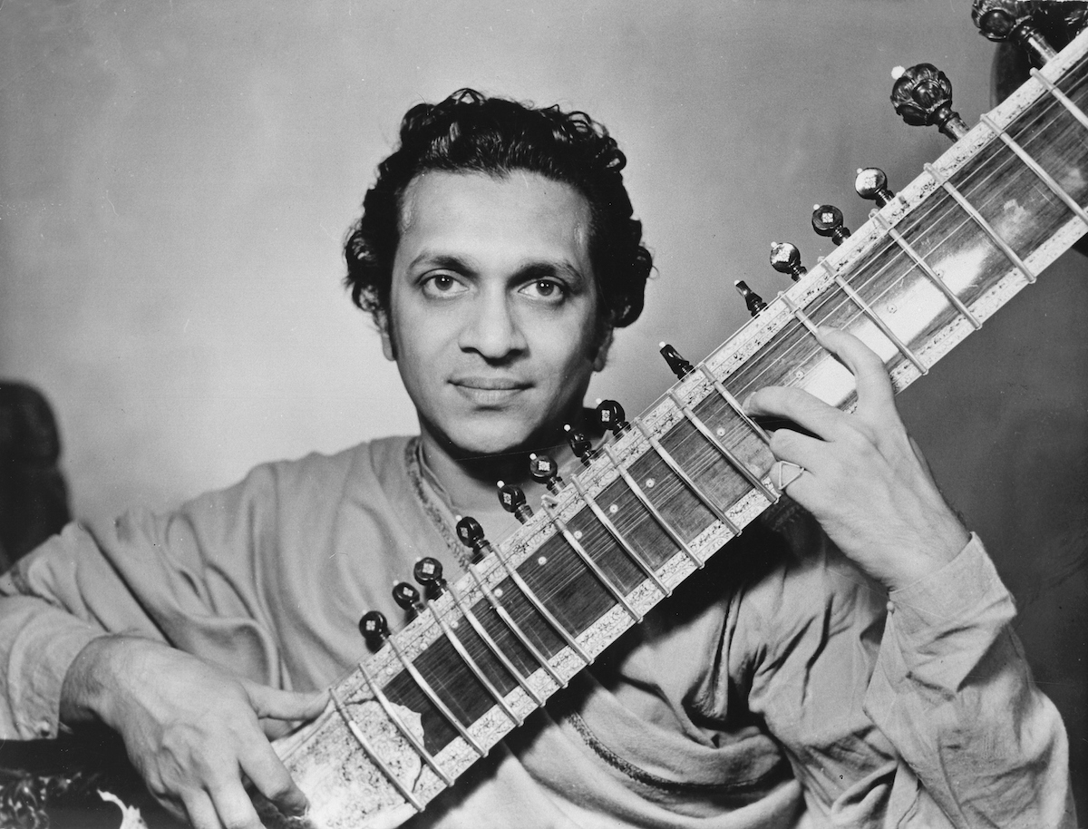 Ravi Shankar in 1955