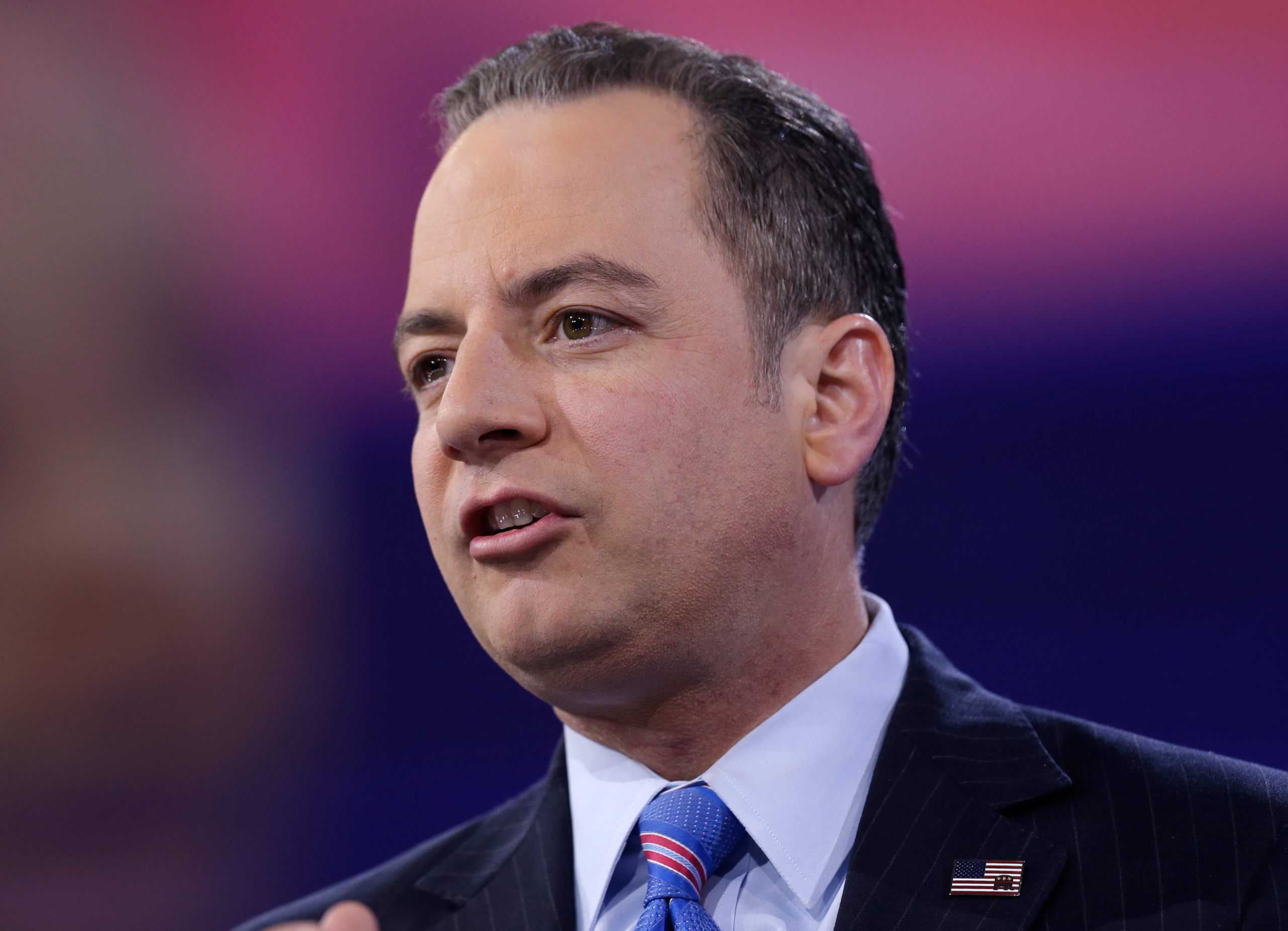 Republican National Committee Chairman Reince Priebus speaks during the Conservative Political Action Conference (CPAC) in National Harbor, Md., on March 4, 2016.