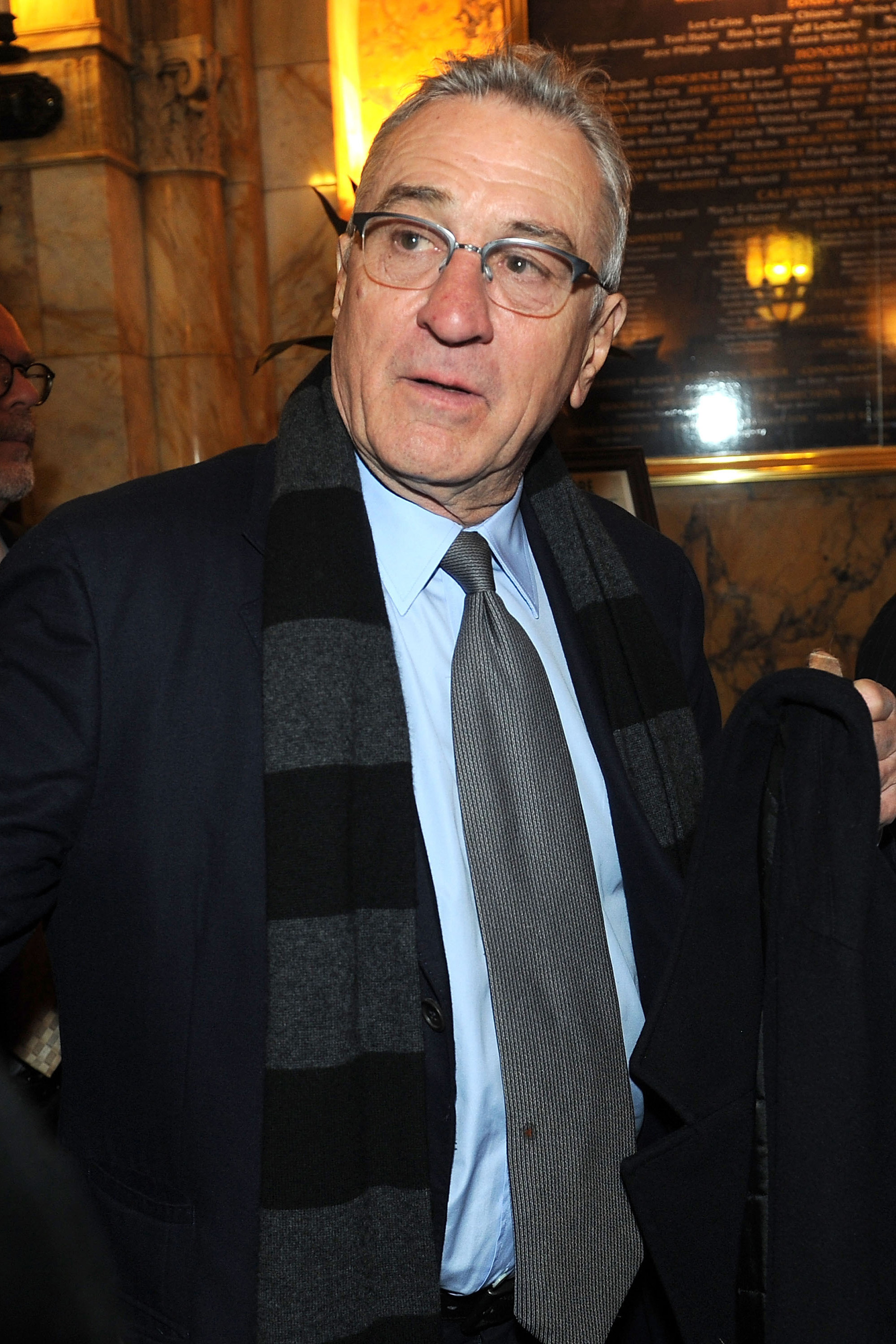 Robert De Niro attends Jerry Lewis's 90th Birthday at the Friars Club in New York on April 8, 2016.