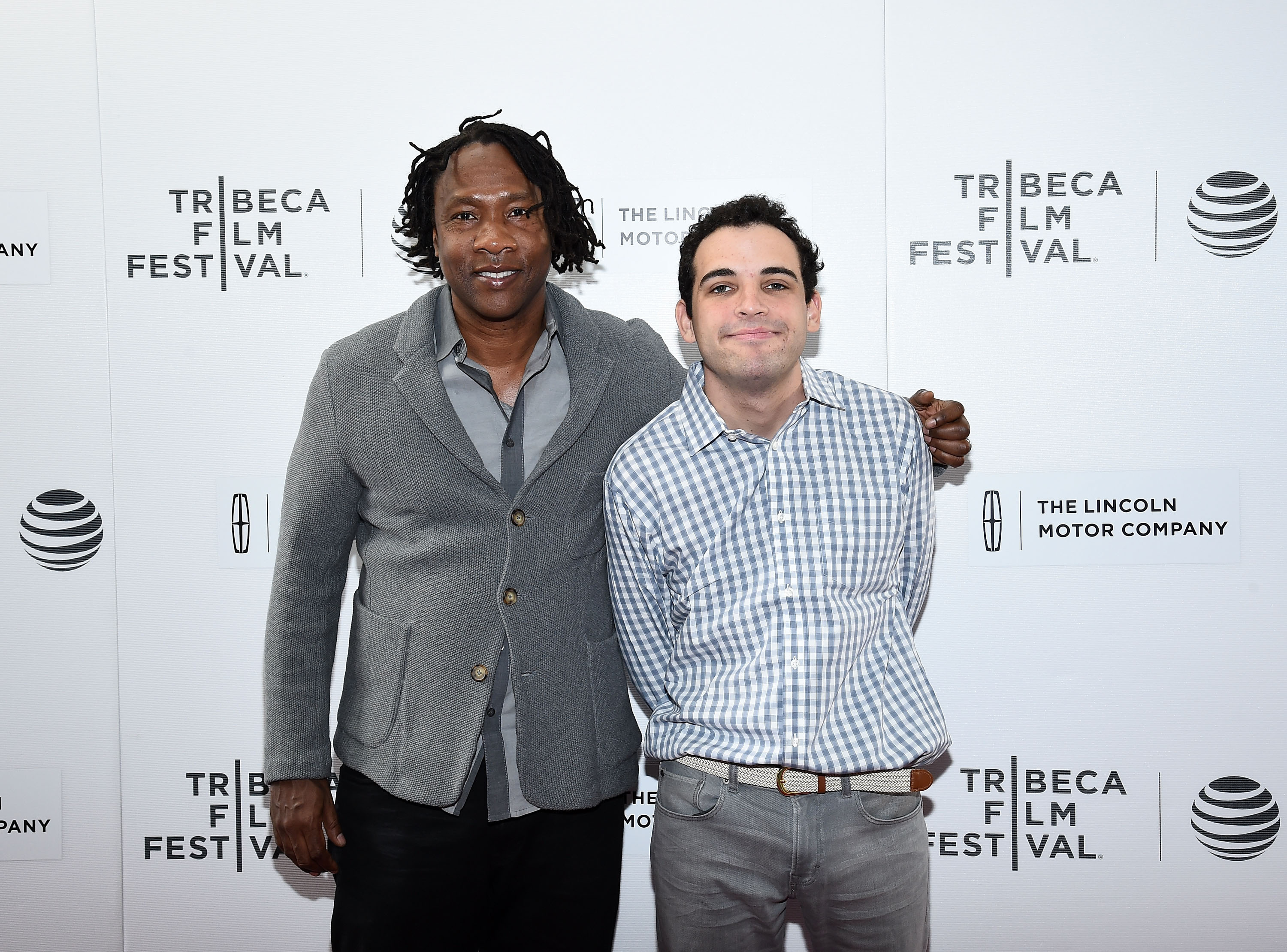 Director Roger Ross Williams and Owen Suskind attend  Life, Animated  Premiere during the 2016 Tribeca Film Festivalon April 23, 2016 in New York City.