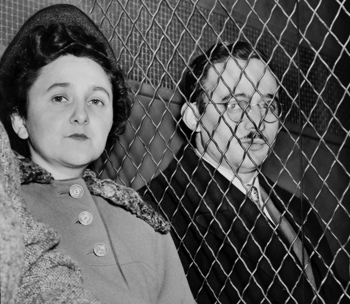 Julius Rosenberg (May 12, 1918 - June 19, 1953) and Ethel Rosenberg (September 28, 1915 - June 19, 1953) in 1953