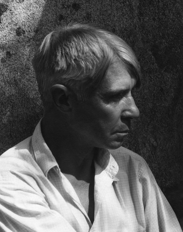 Portrait of American author Carl Sandburg in 1934