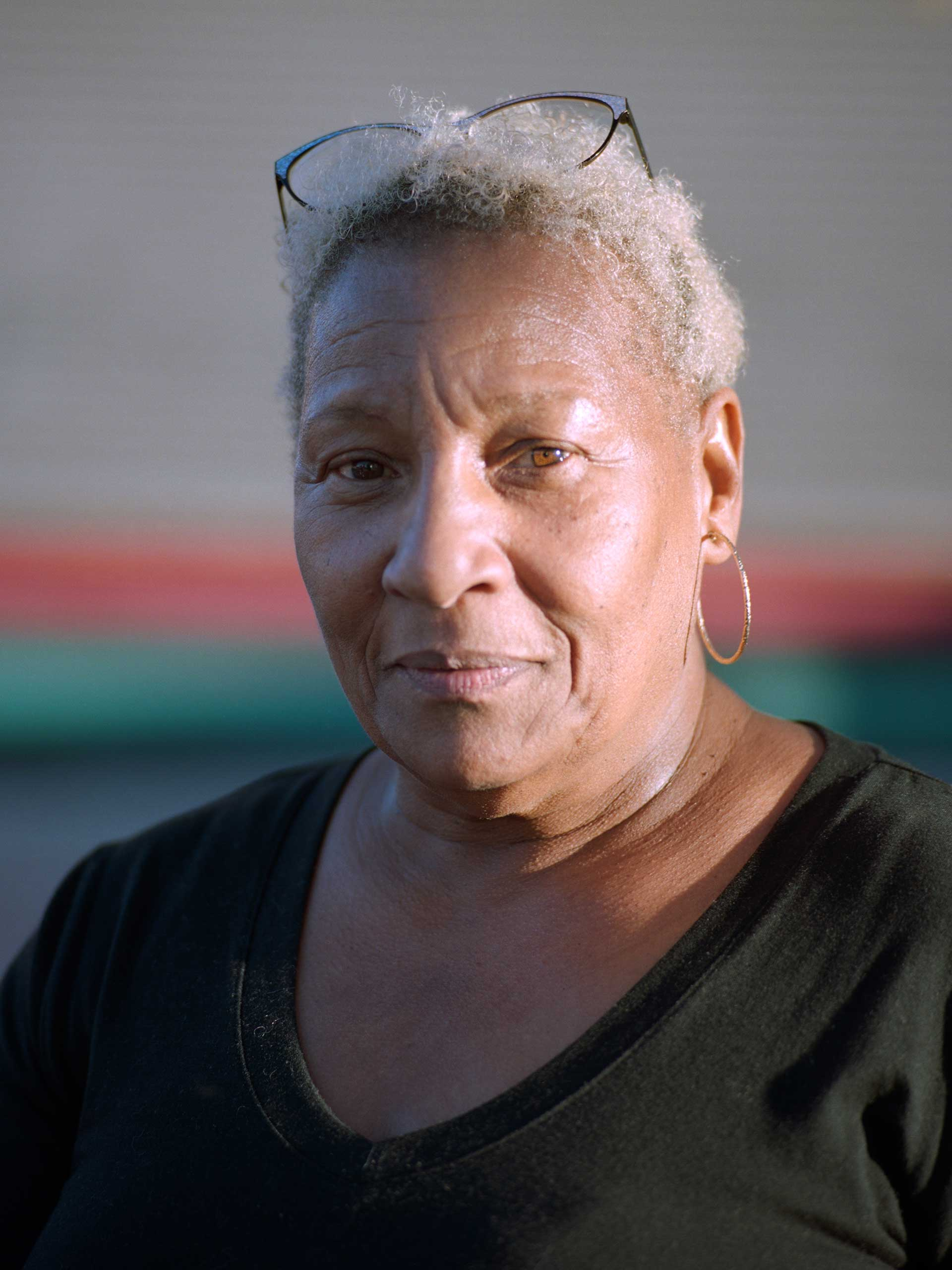 """Cynthia Galmore, age 63, is an embalmer and owns Joseph G. Locks Jr. Funeral Home in East Baltimore, which may be one of the oldest black-owned businesses in America. It was started around 1875 and she took over afer both the owner and his wife died within a few weeks of each other. """"I always said from day one when I first got in the business it was like something spiritual. It was like a godsend, okay? Because I basically started off trying to go to medical school and I wind up being an embalmer and it's something that you can't really take lightly, especially if you care about your families."""""""