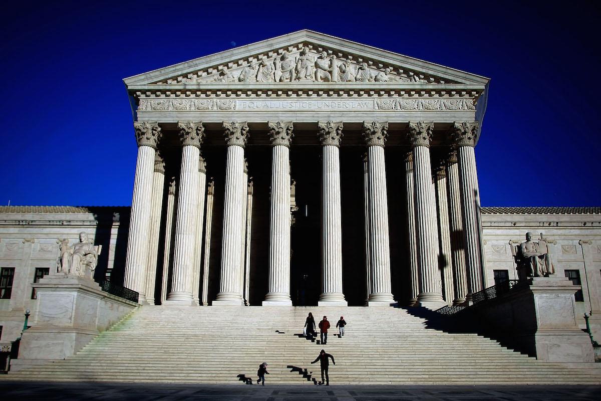 The Supreme Court seen on Feb. 5, 2009 in Washington, DC.