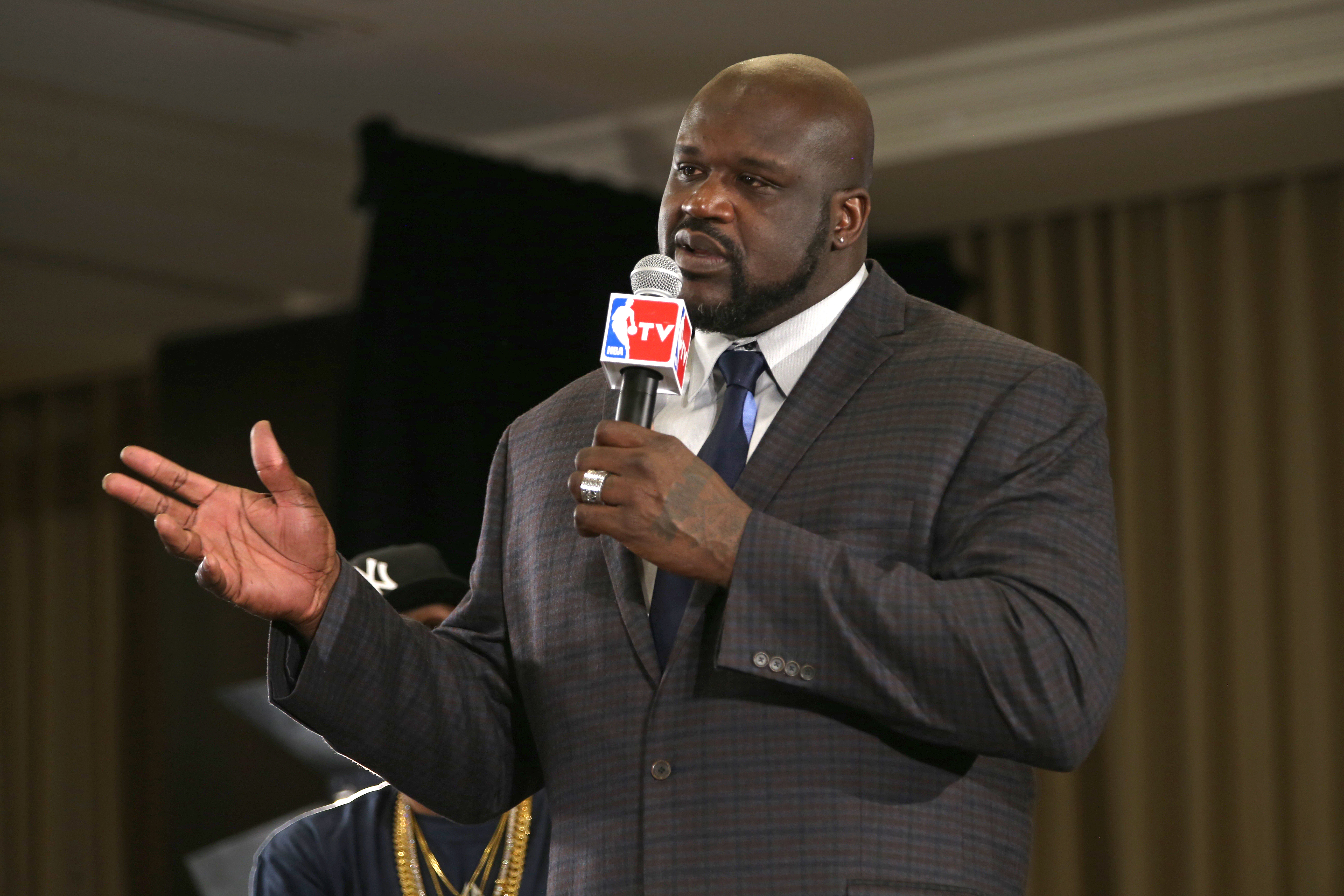 Shaquille O'Neal is announced as one of the finalist for the the Naismith Memorial Basketball Hall of Fame class of 2016.
