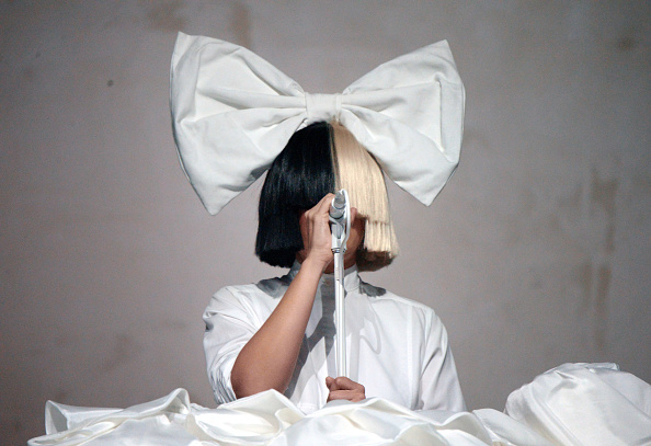 Sia performs onstage during day 3 of the 2016 Coachella Valley Music And Arts Festival Weekend 1 at the Empire Polo Club on April 17, 2016 in Indio, California.