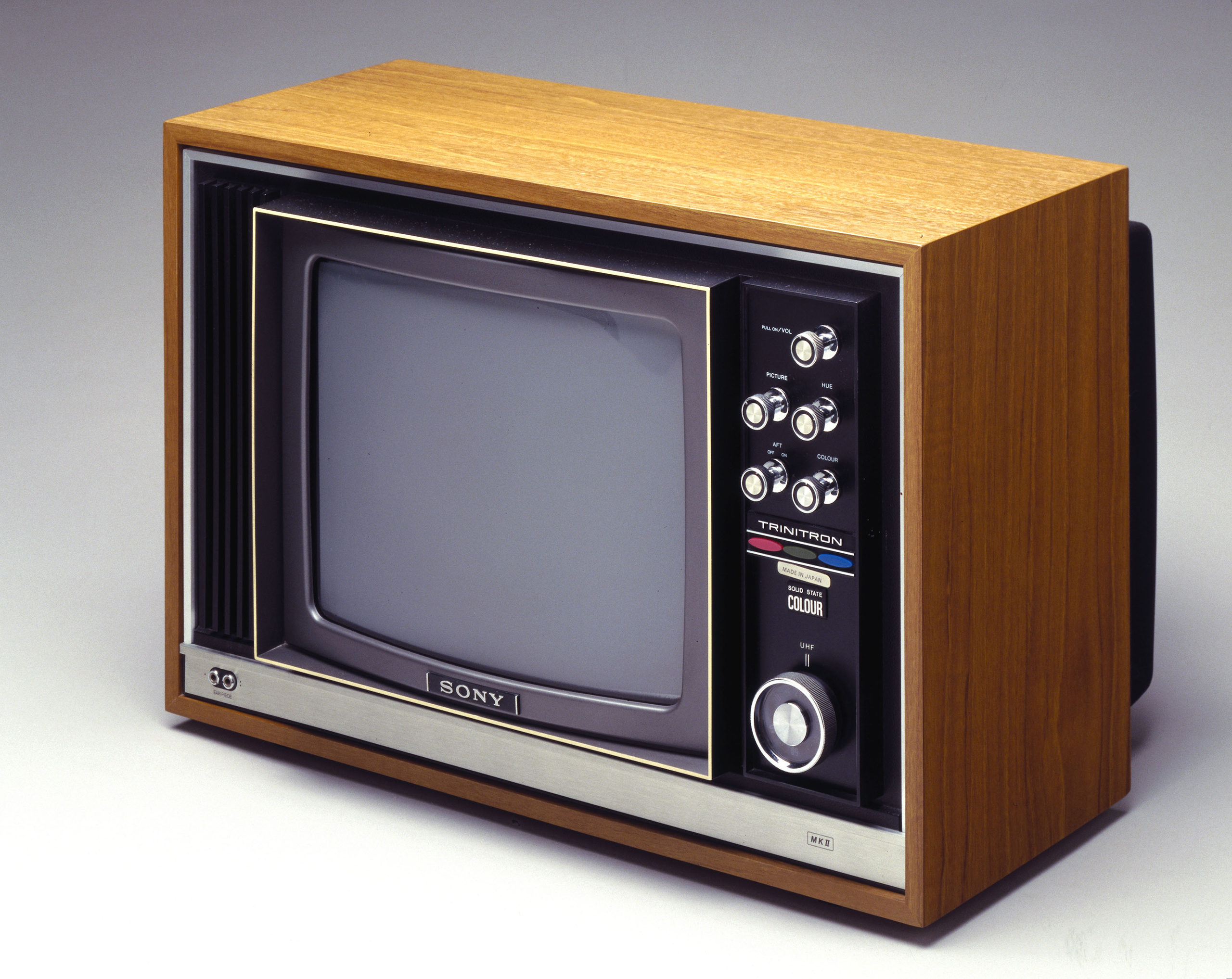 Sony colour television, 1970.
