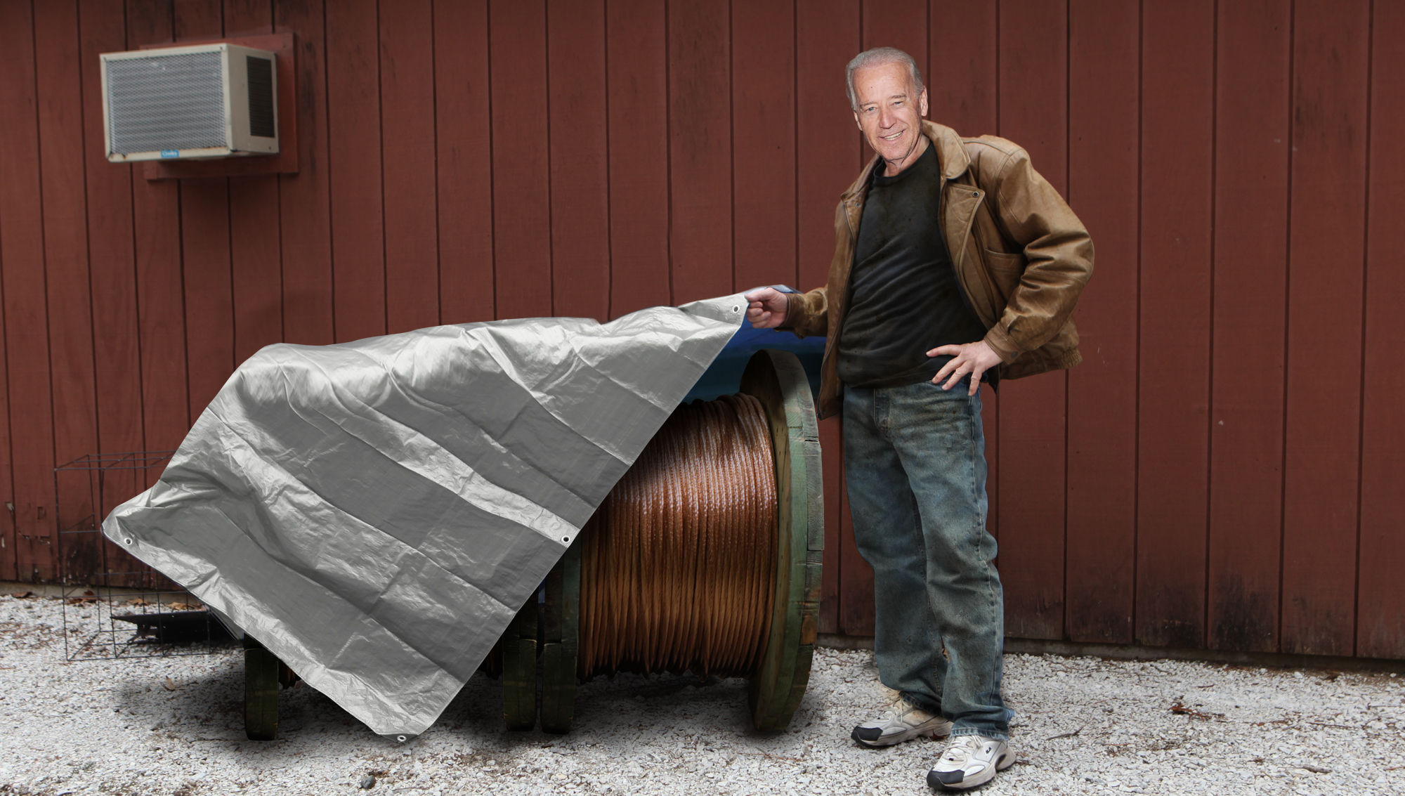 Biden Scores 800 Feet Of Copper Wire                               January 24, 2013