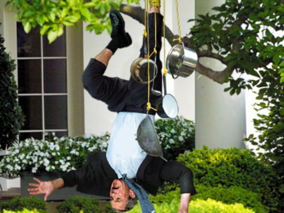 Bush Caught In One of His Own Terror Traps                               May 25, 2005