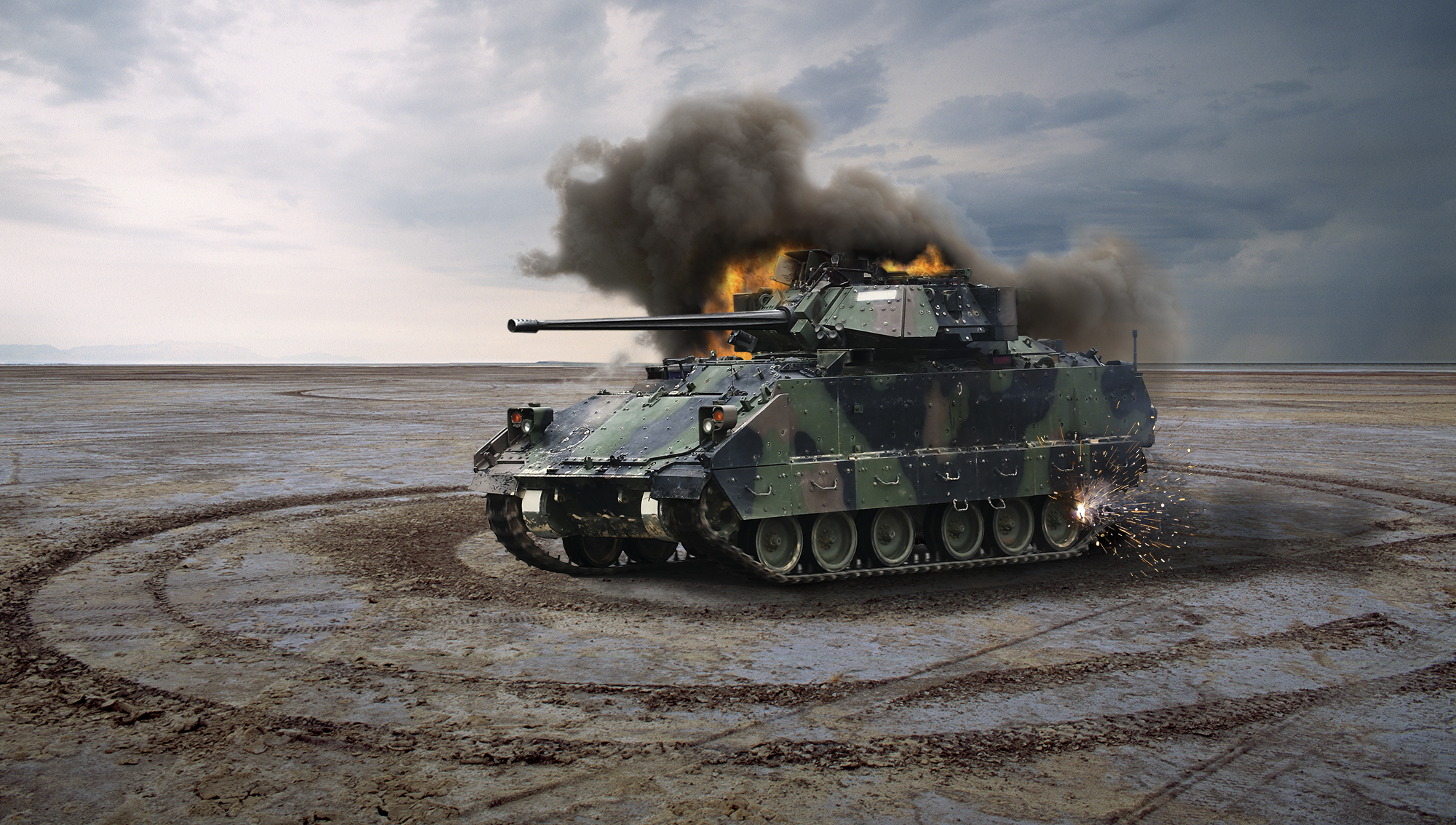 Congress Reluctant To Cut Funding For Tank That Just Spins  Around and Self-Destructs                               May 22, 2014