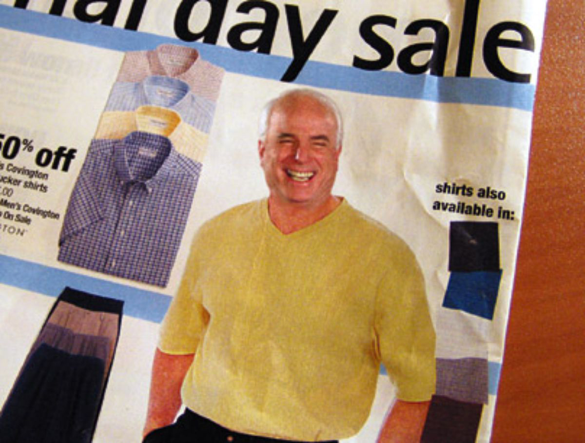McCain Gives Up JCPenney Catalog-Modeling Job                                May 28, 2003