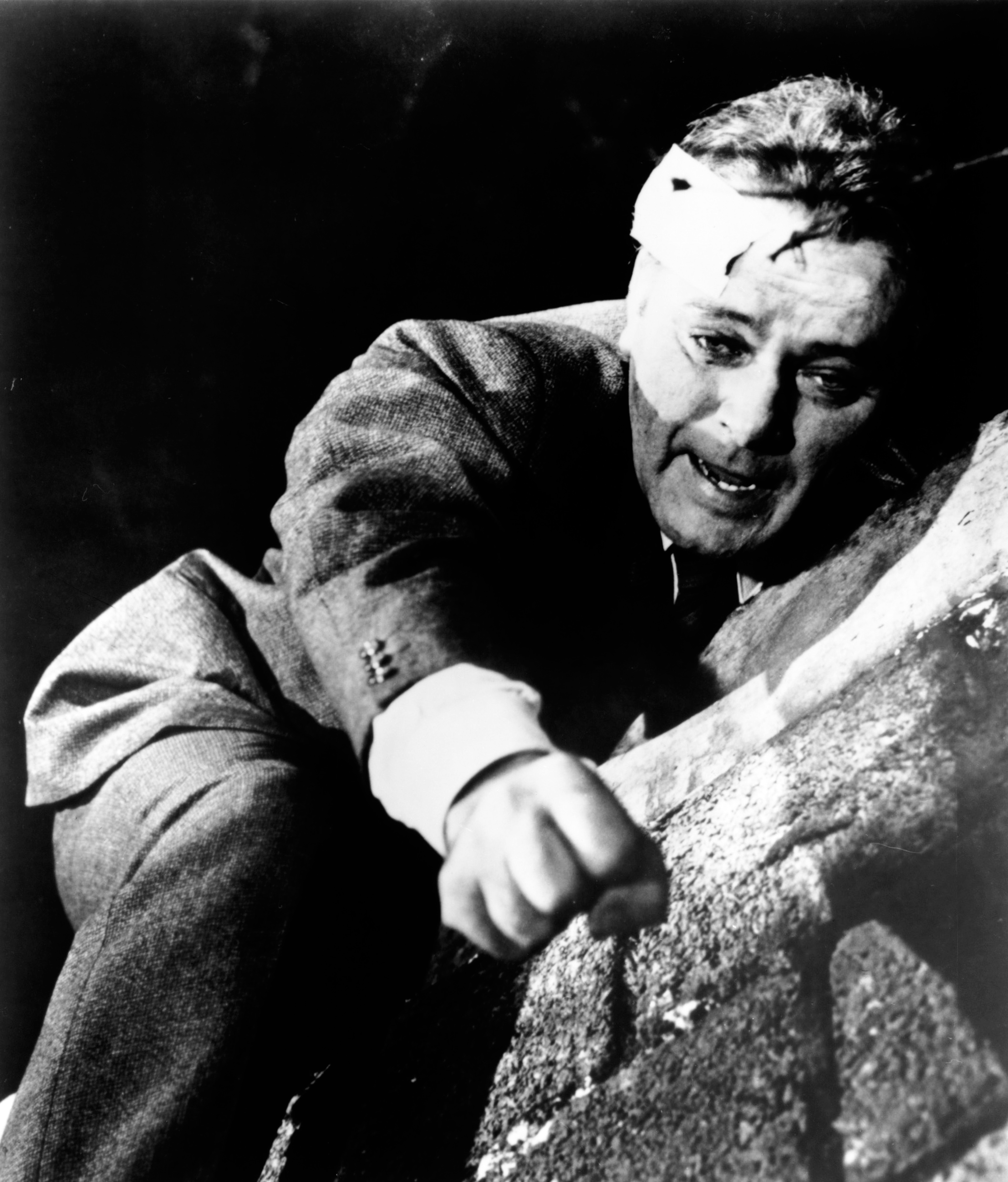 Richard Burton as Alec Leamas in The Spy Who Came in from the Cold, 1965