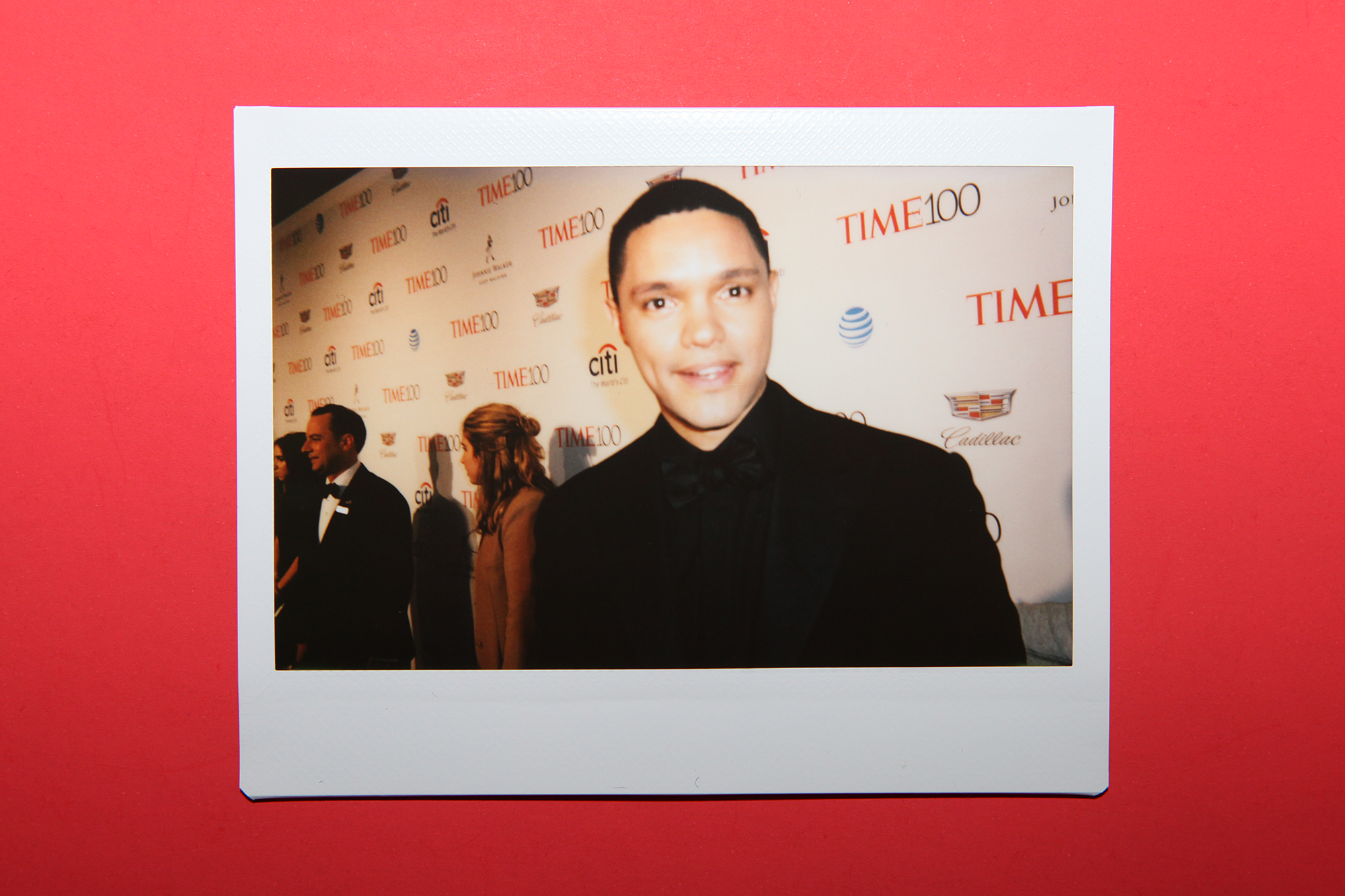Trevor Noah arrives at the TIME 100 Gala at the Time Warner Center on April 26, 2016 in New York City.