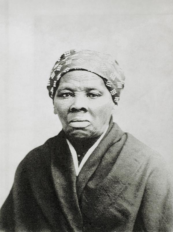Harriet Tubman portrait, circa 1885.